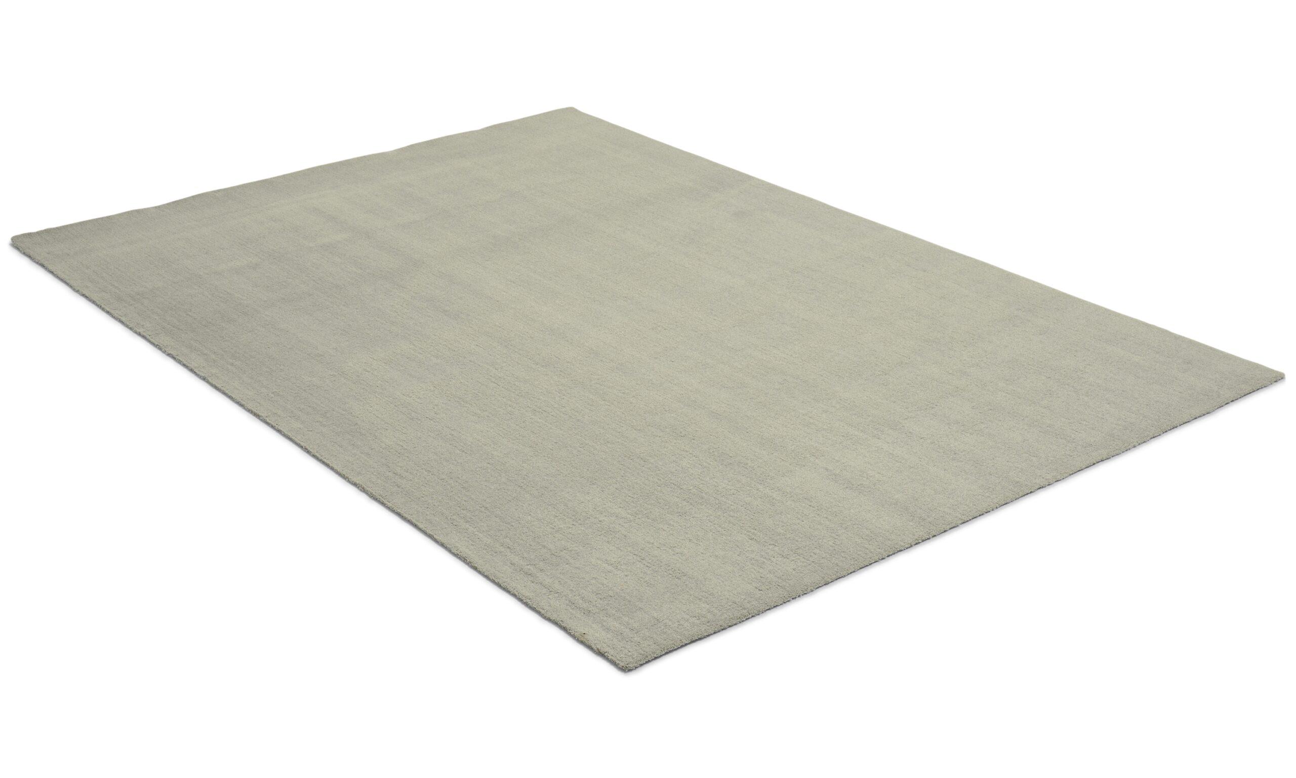 Feel sølv - maskinvevd teppe