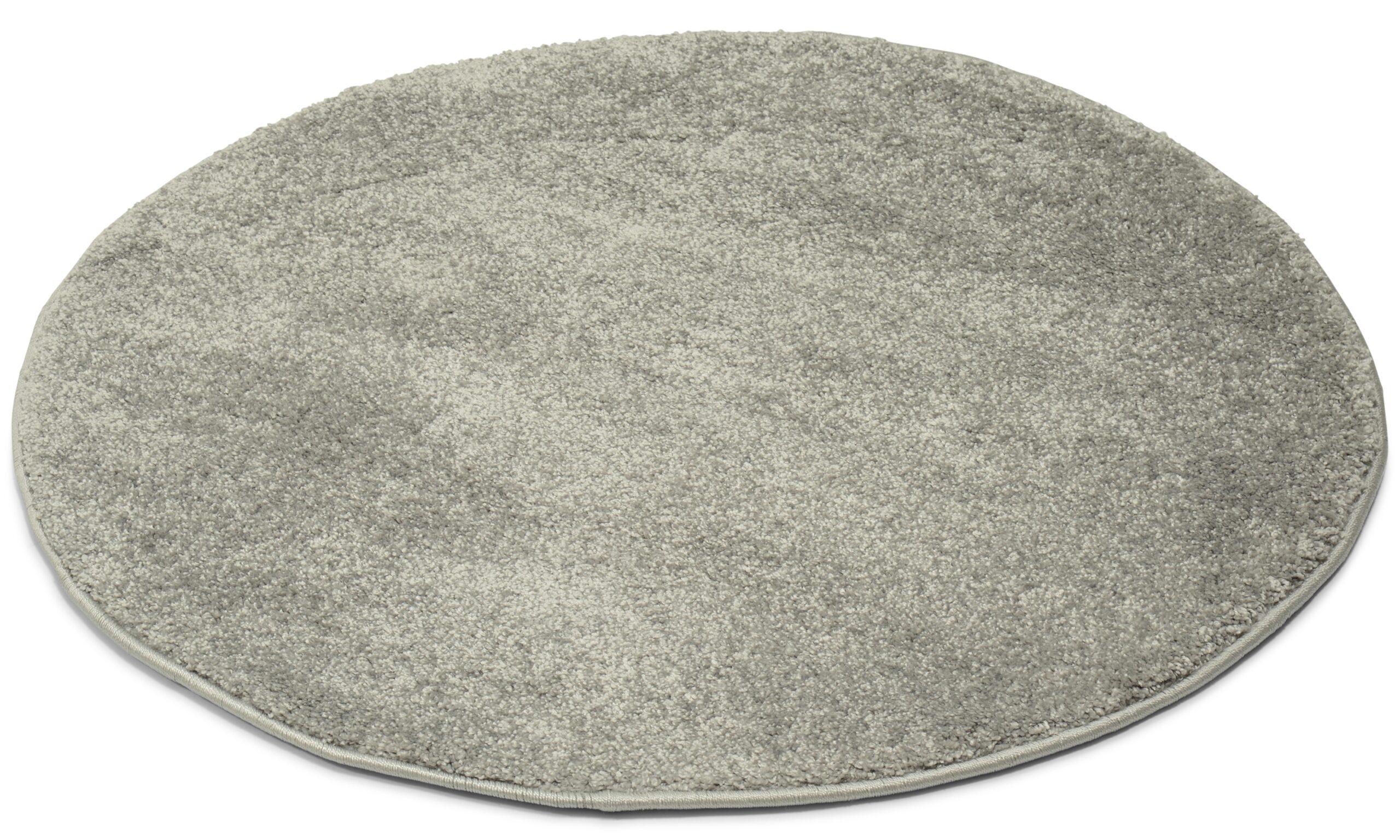Elegance sølv - maskinvevd teppe