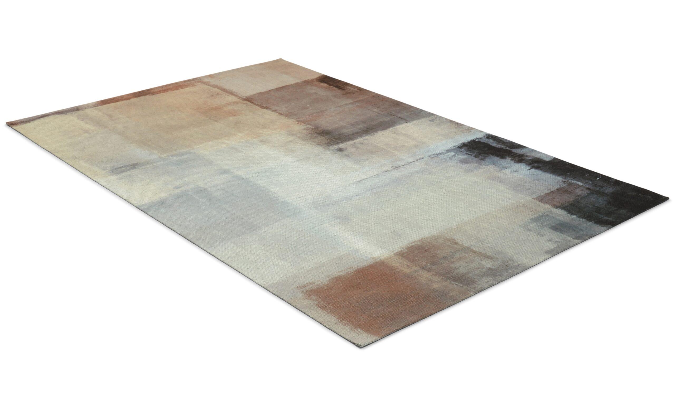 Primera art grå/natur - flatvevd teppe