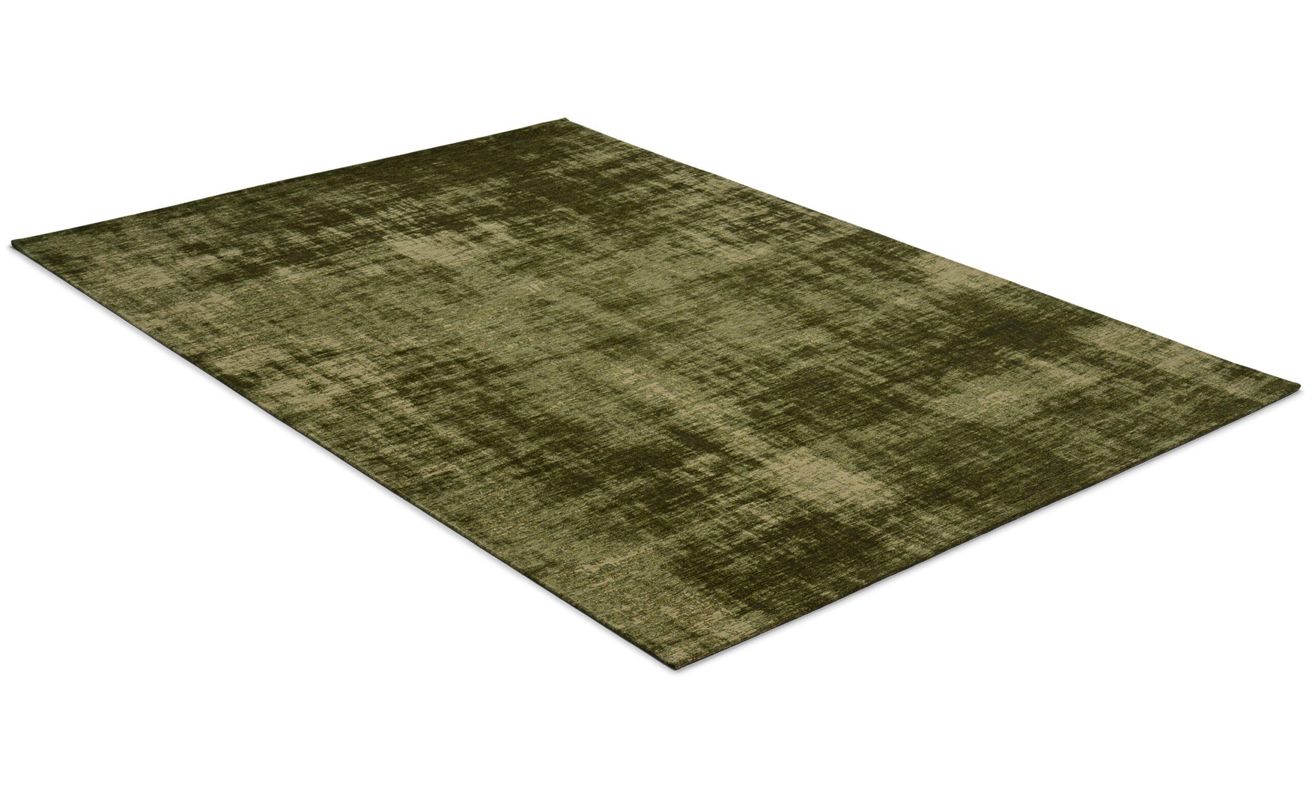 Rubi grønn - maskinvevd teppe