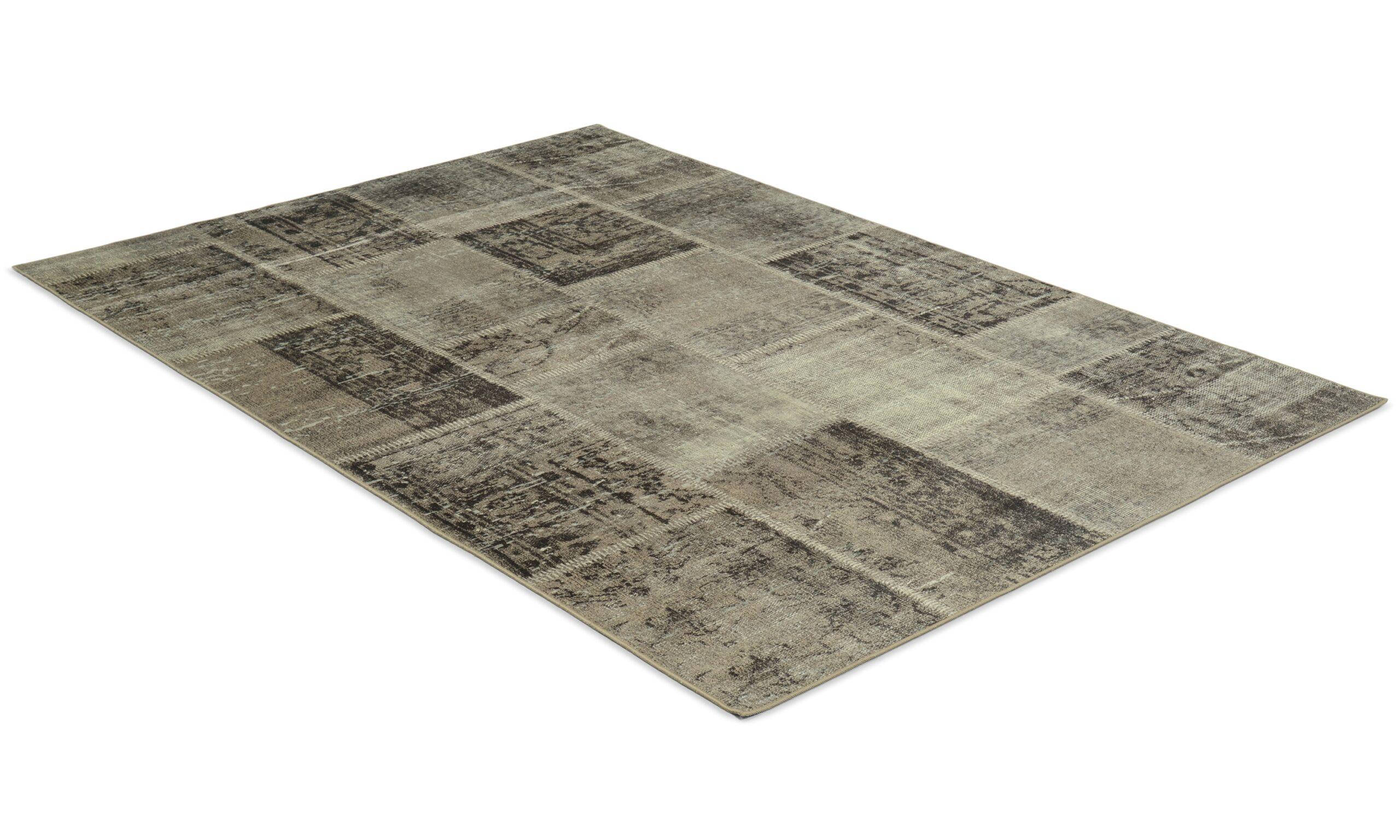 Dayton sølv - maskinvevd teppe