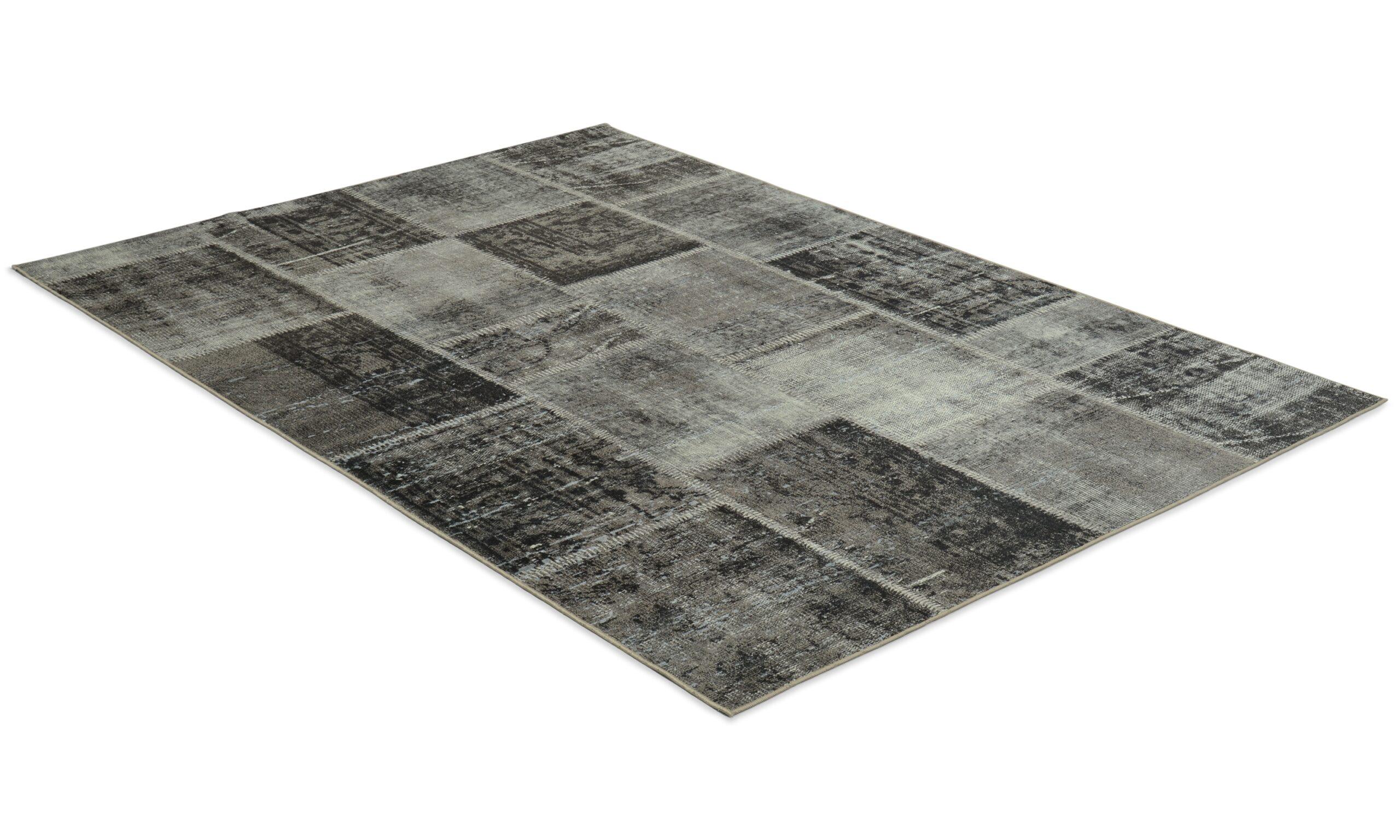 Dayton grå - maskinvevd teppe