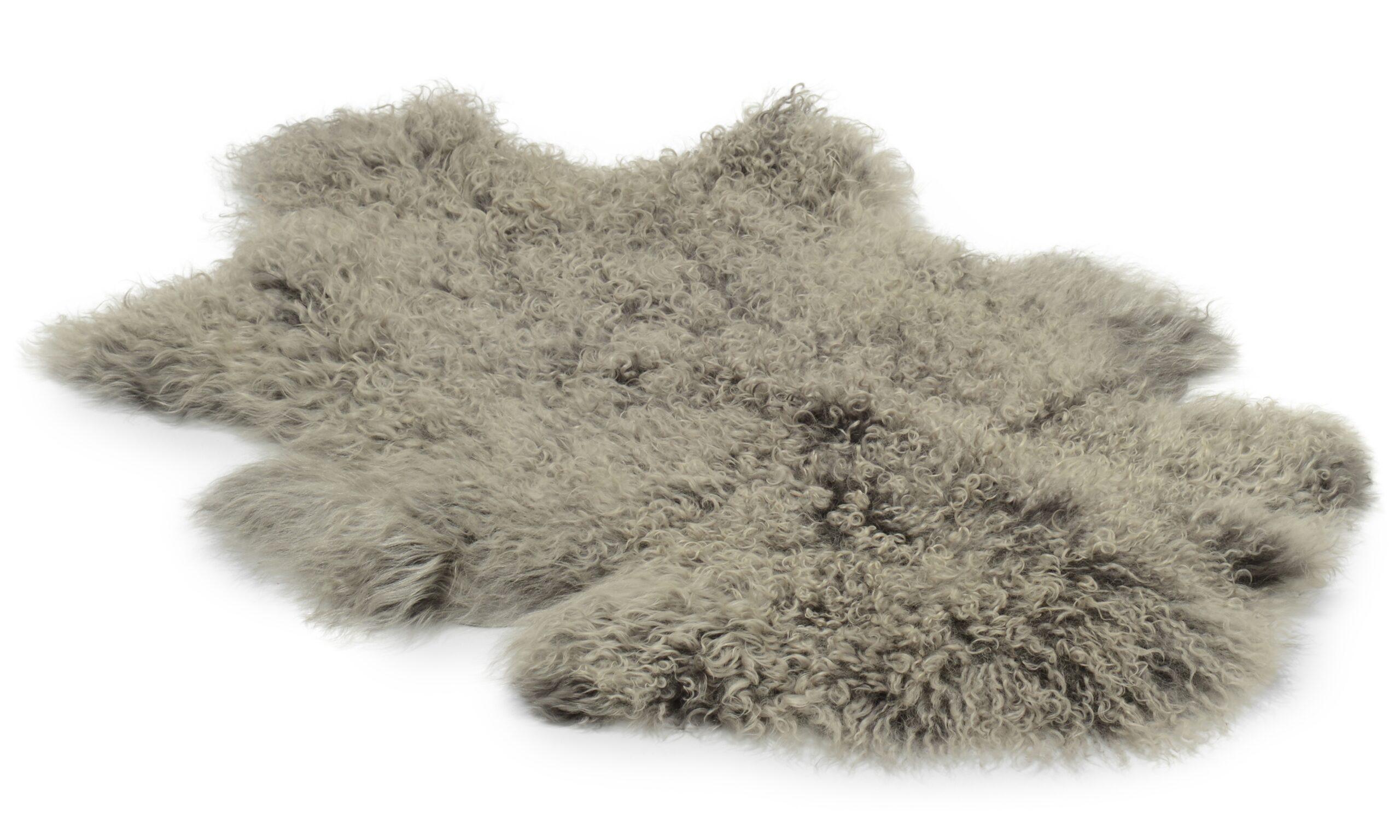 Shansi saueskinn - grå silvertop