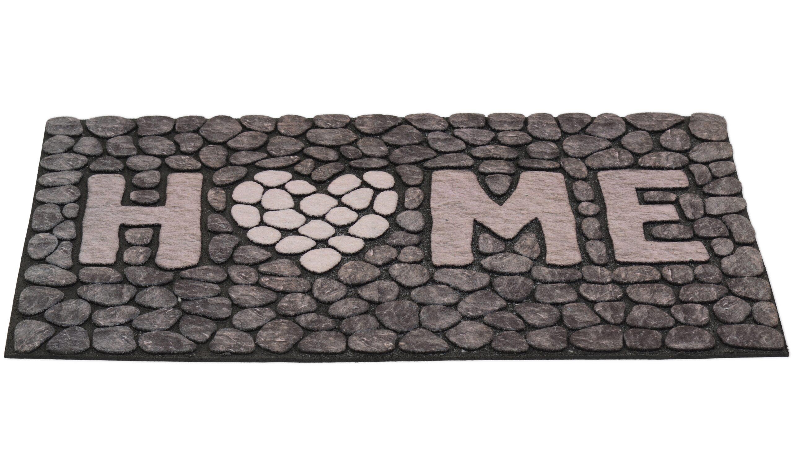 Home stone grå - dørmatte
