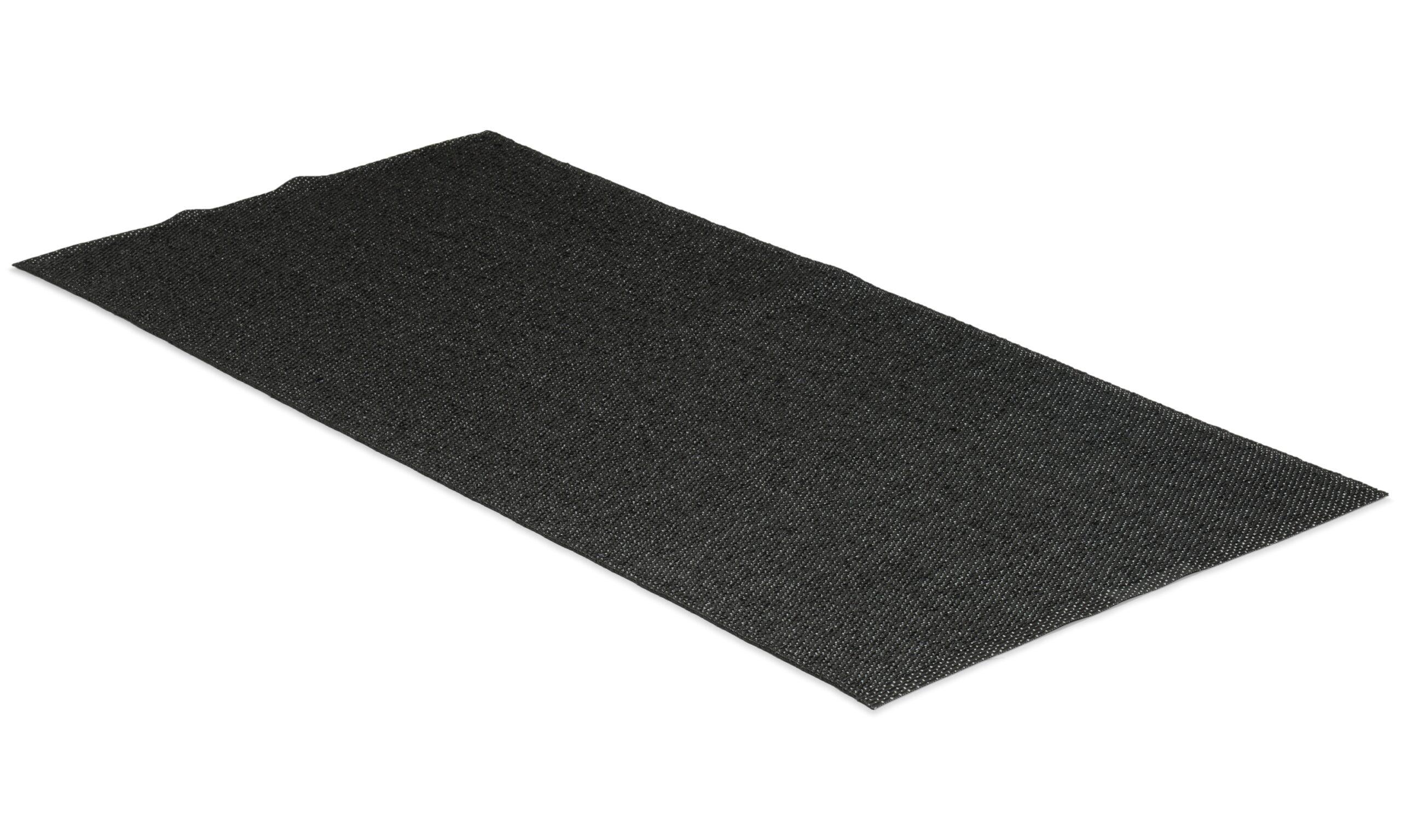 Solo svart - plastteppe