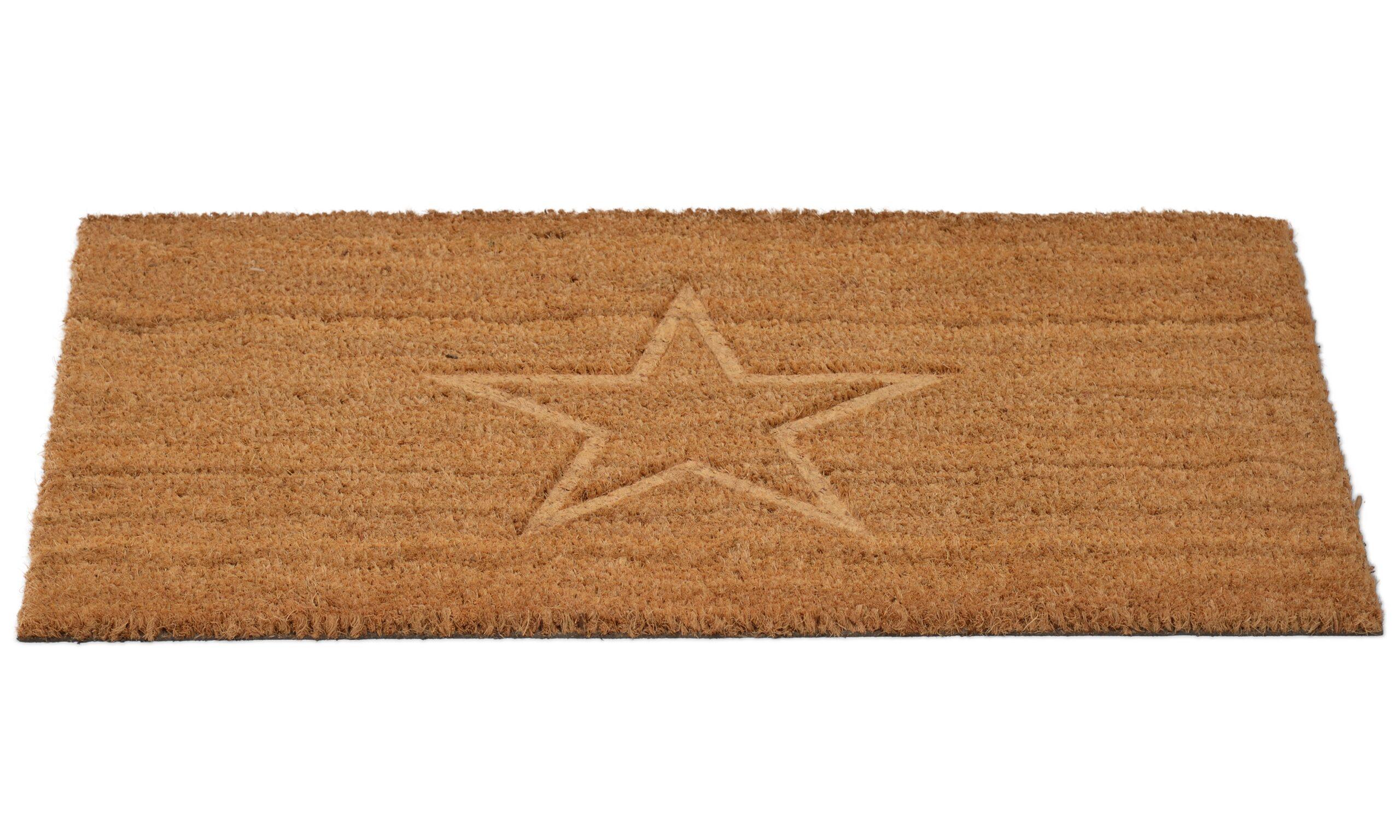 Cocos stjerne - dørmatte