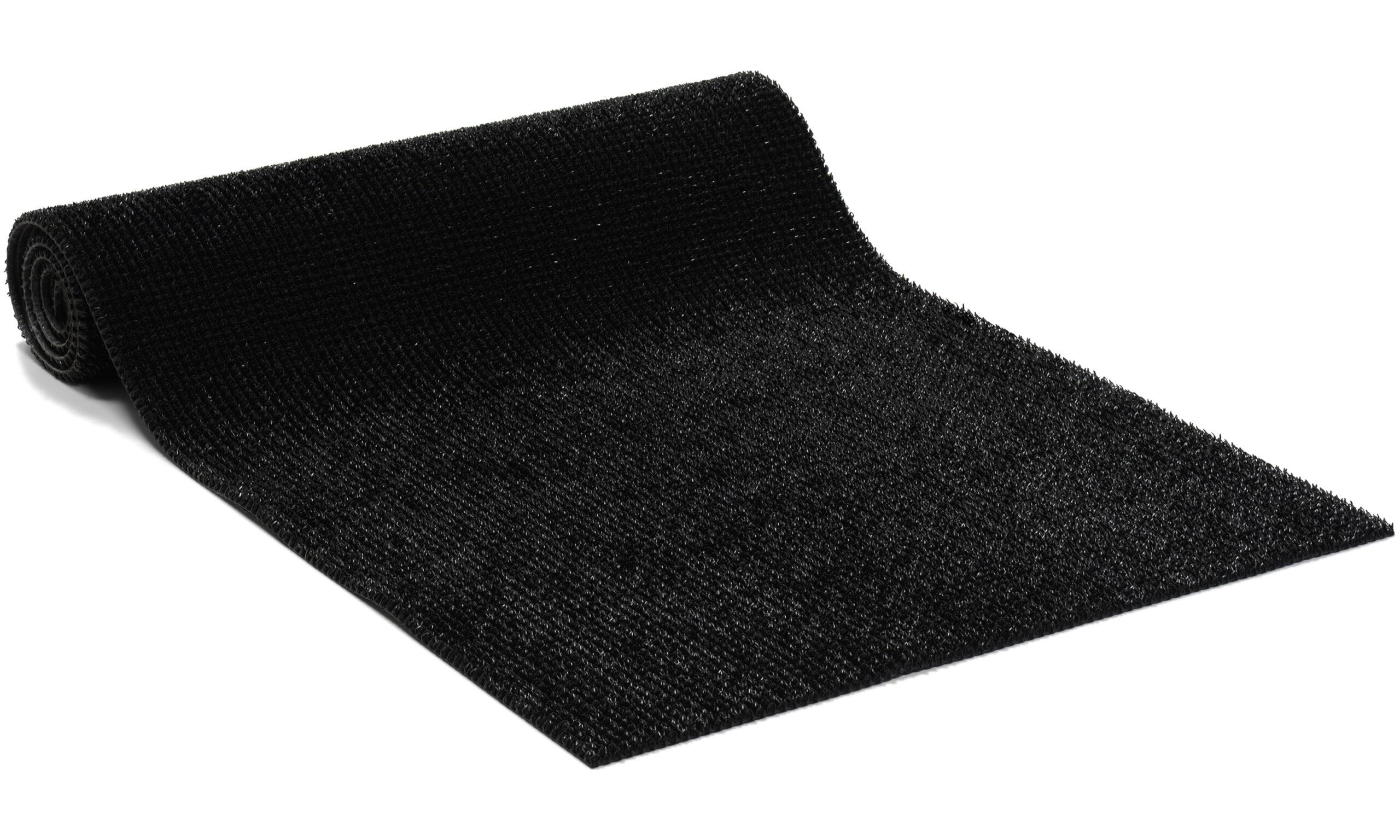 Bristlex svart - Entrématte på metervare