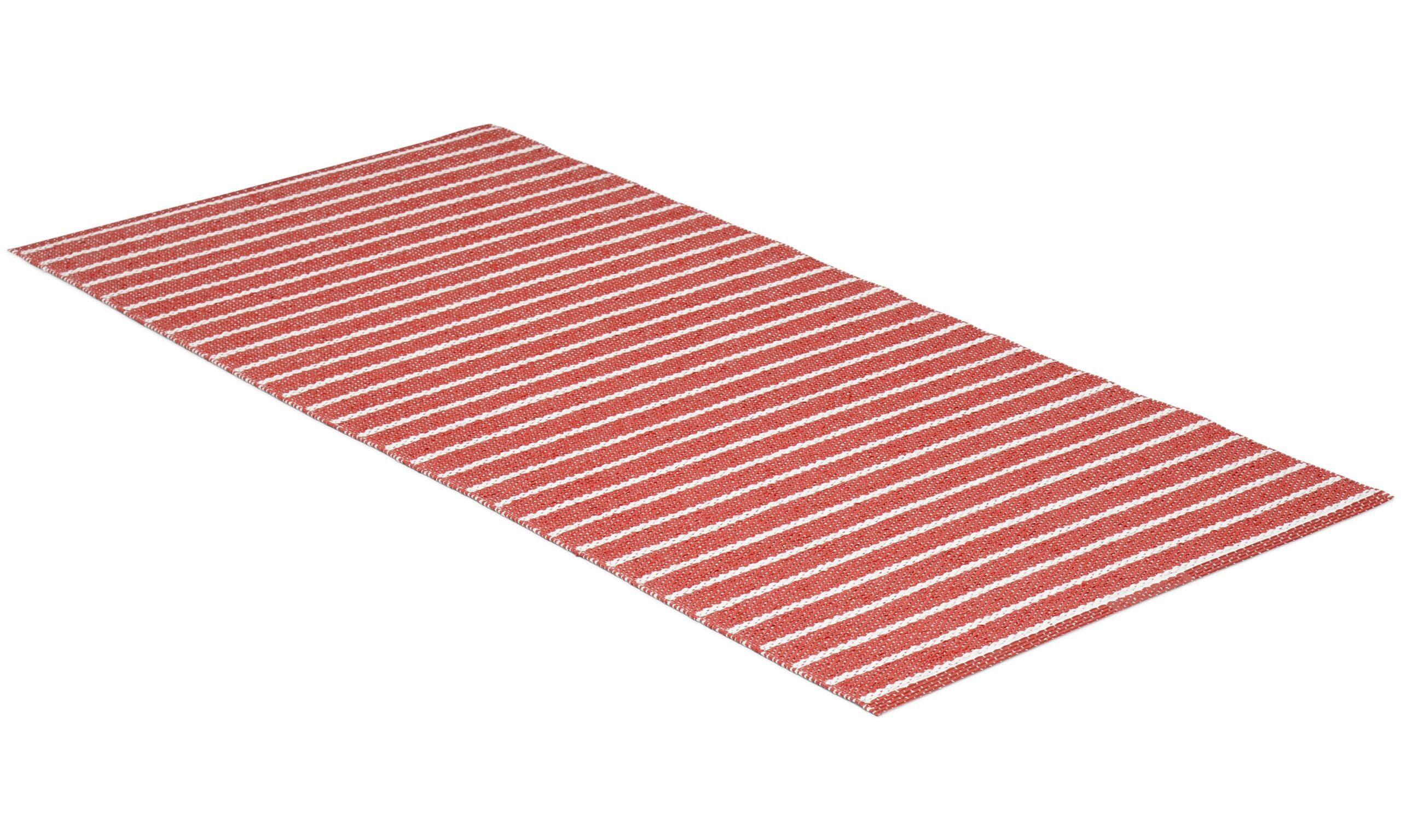 Music rød - plastteppe