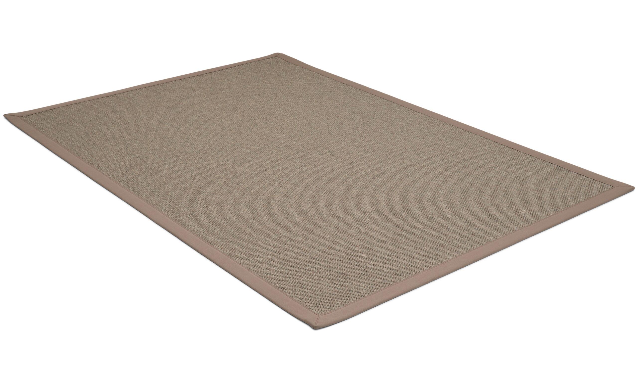 Rustik muldvarpgrå - flatvevd teppe