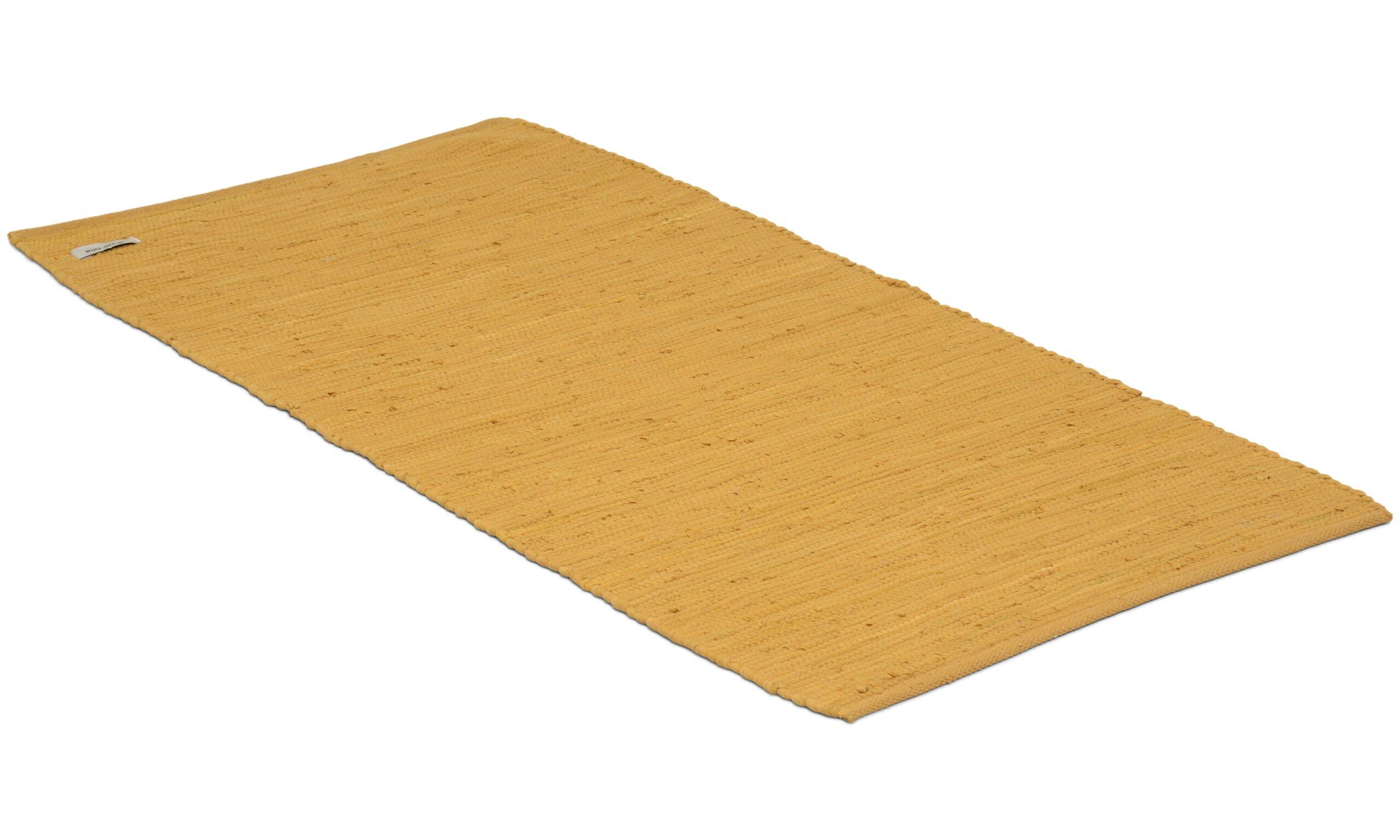 Cotton rug burnished amber - fillerye