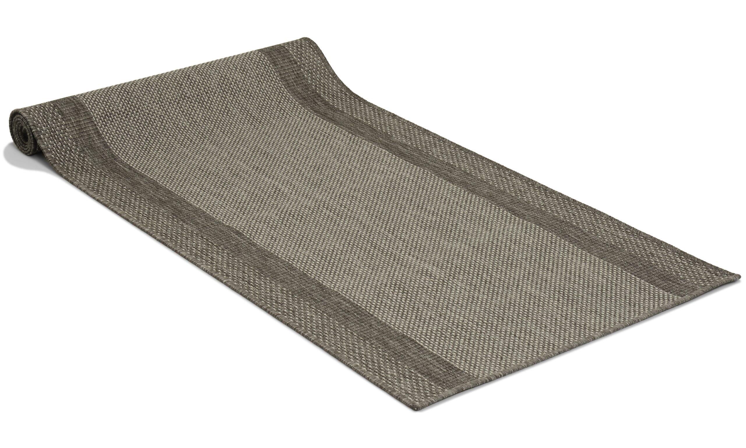 Adria grå - gangteppe som metervare