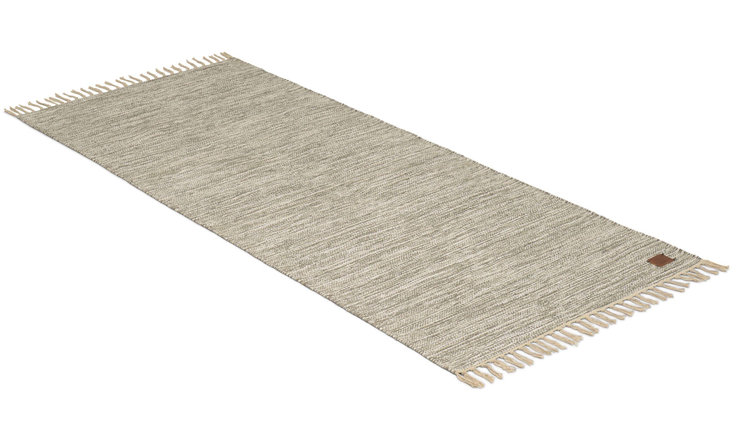 Slite frans grå - bomullsteppe