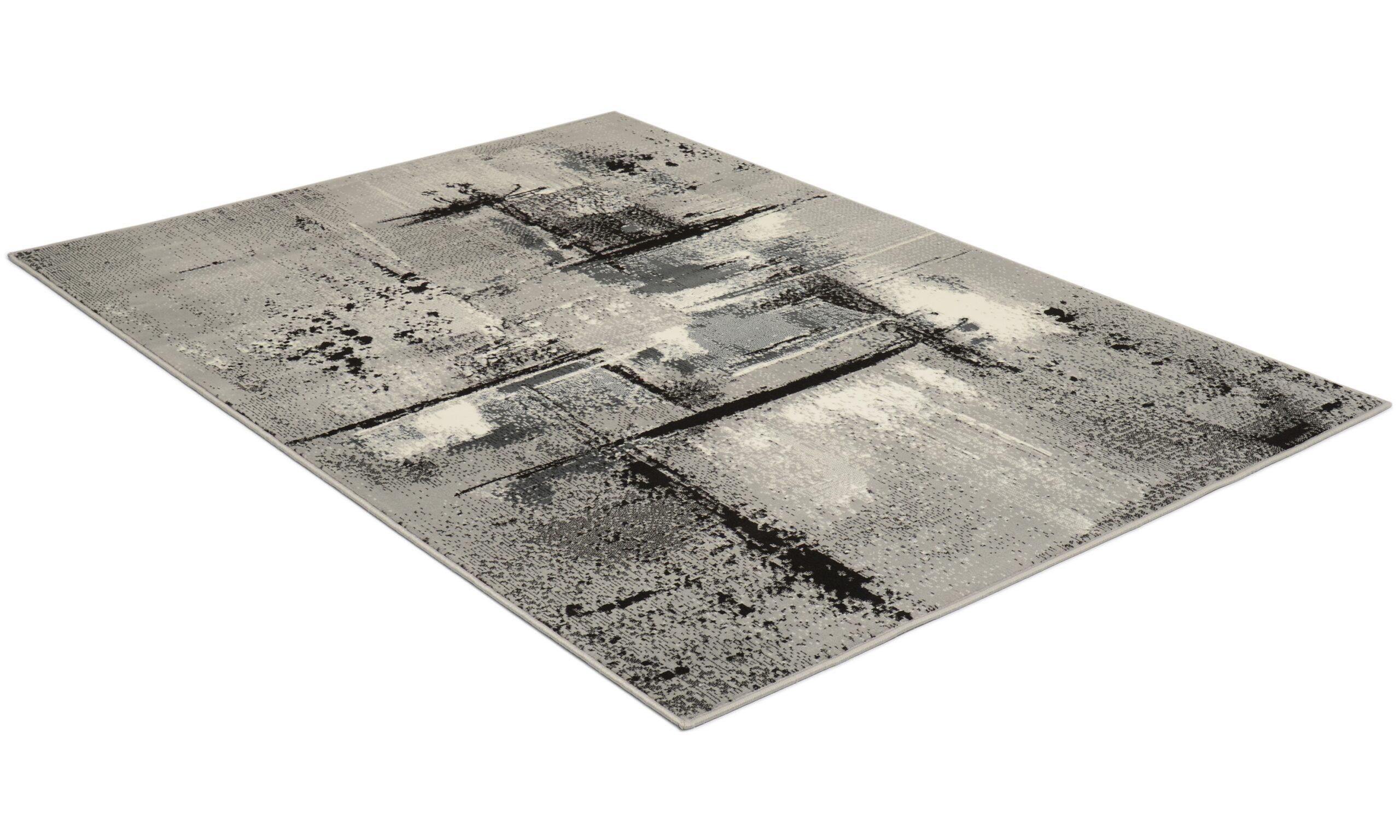 Liverpool grå - maskinvevd teppe