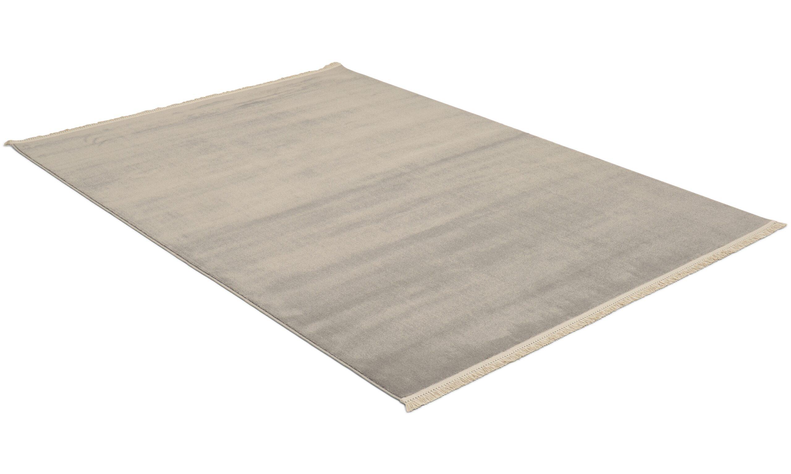 Doux grå - maskinvevd teppe