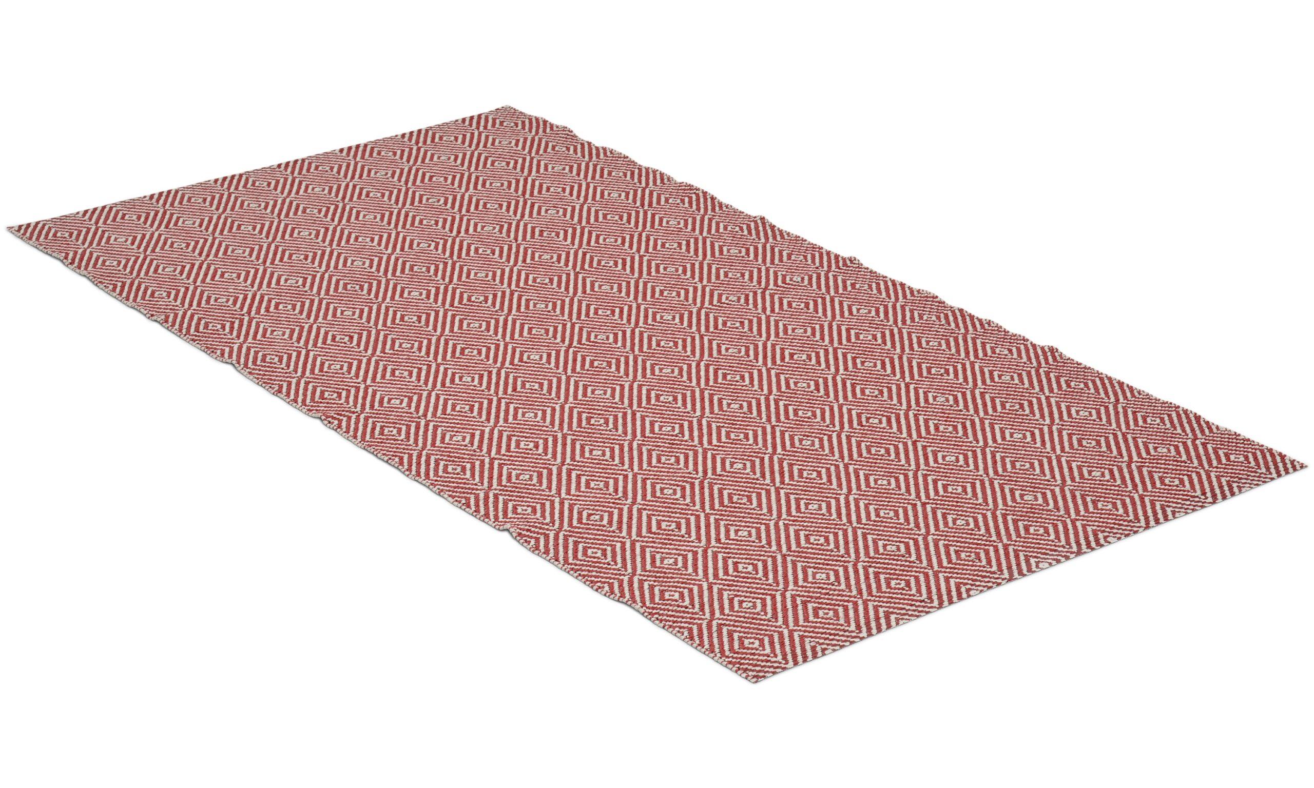 Sweet rød - plastteppe