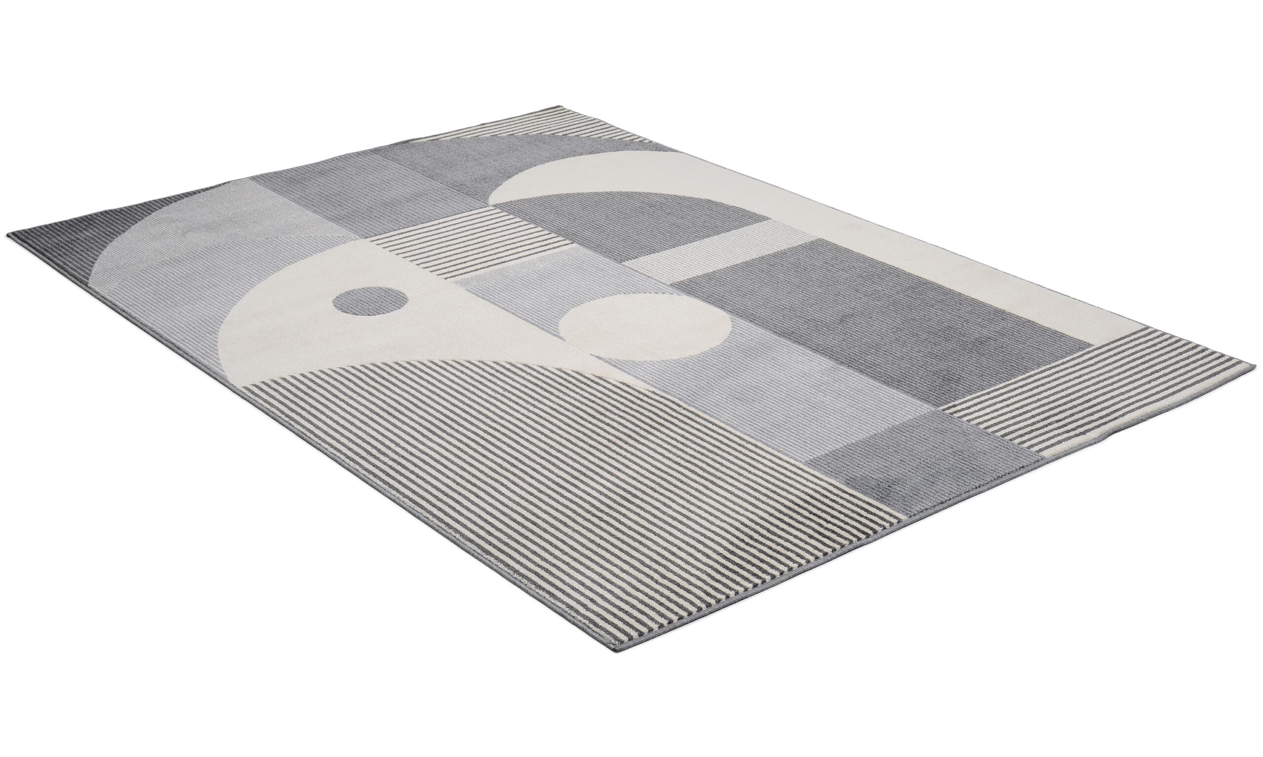 Fenix grå - maskinvevd teppe