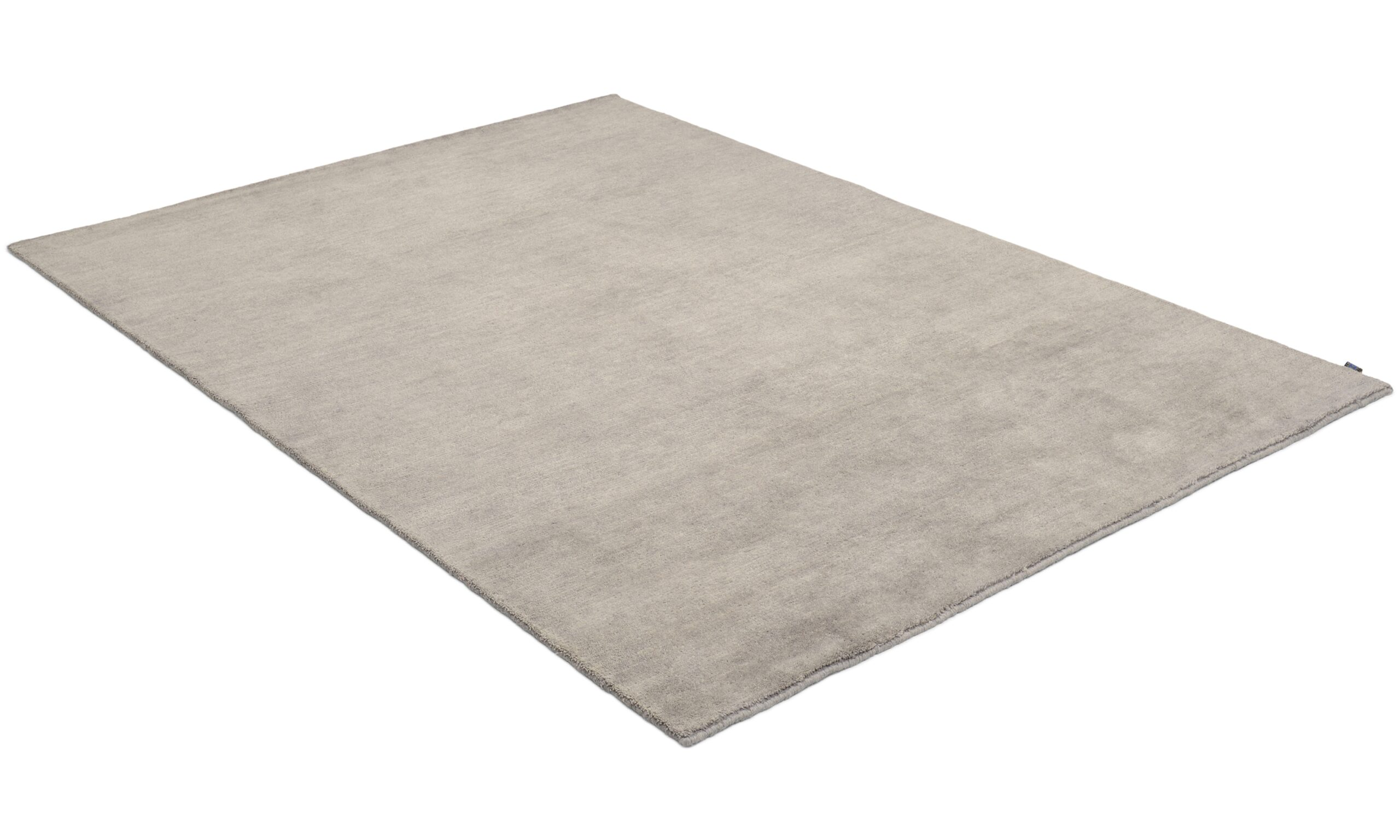 Nepali dark grey - håndknyttet teppe