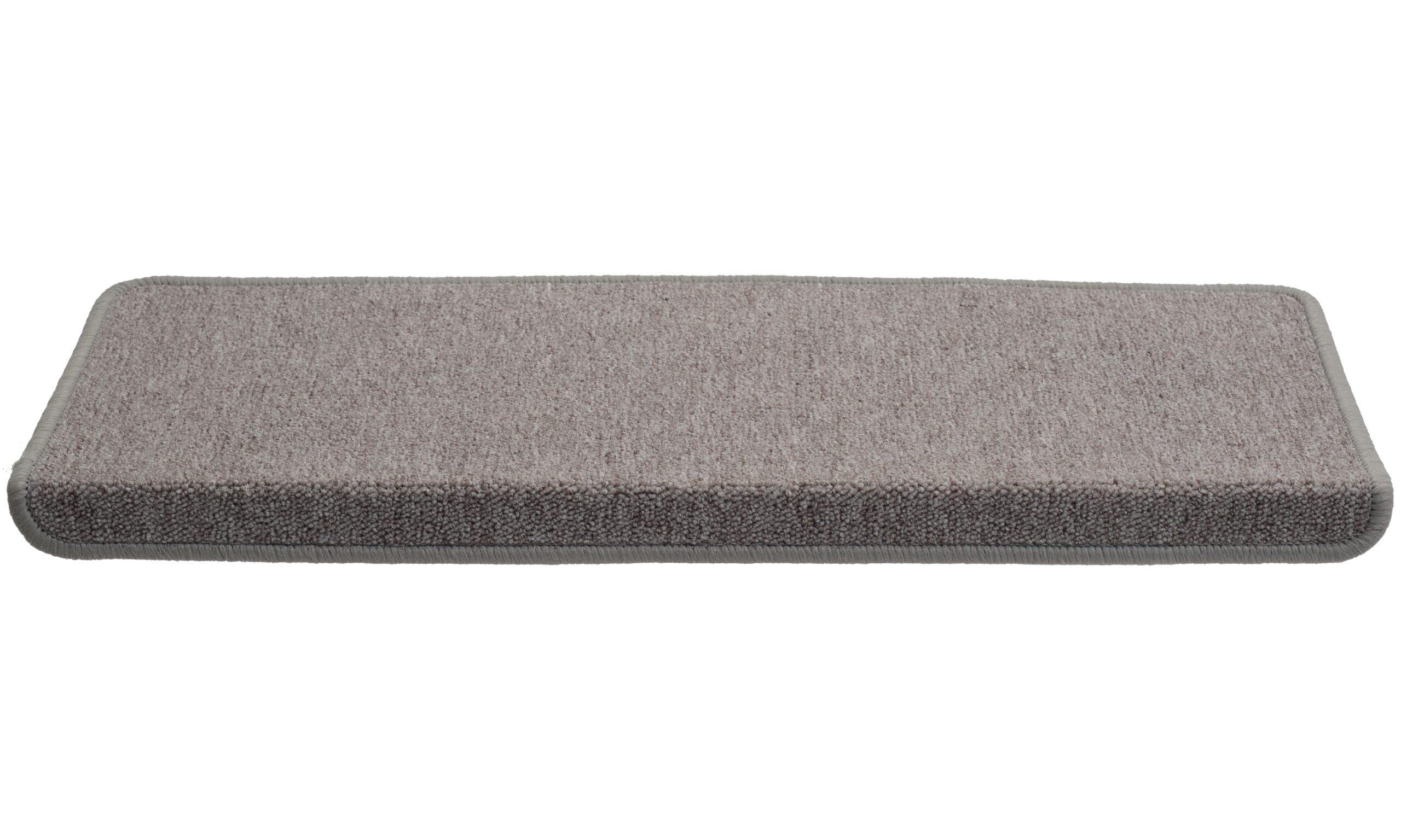 Rambo grå rektangulær - trappeteppe