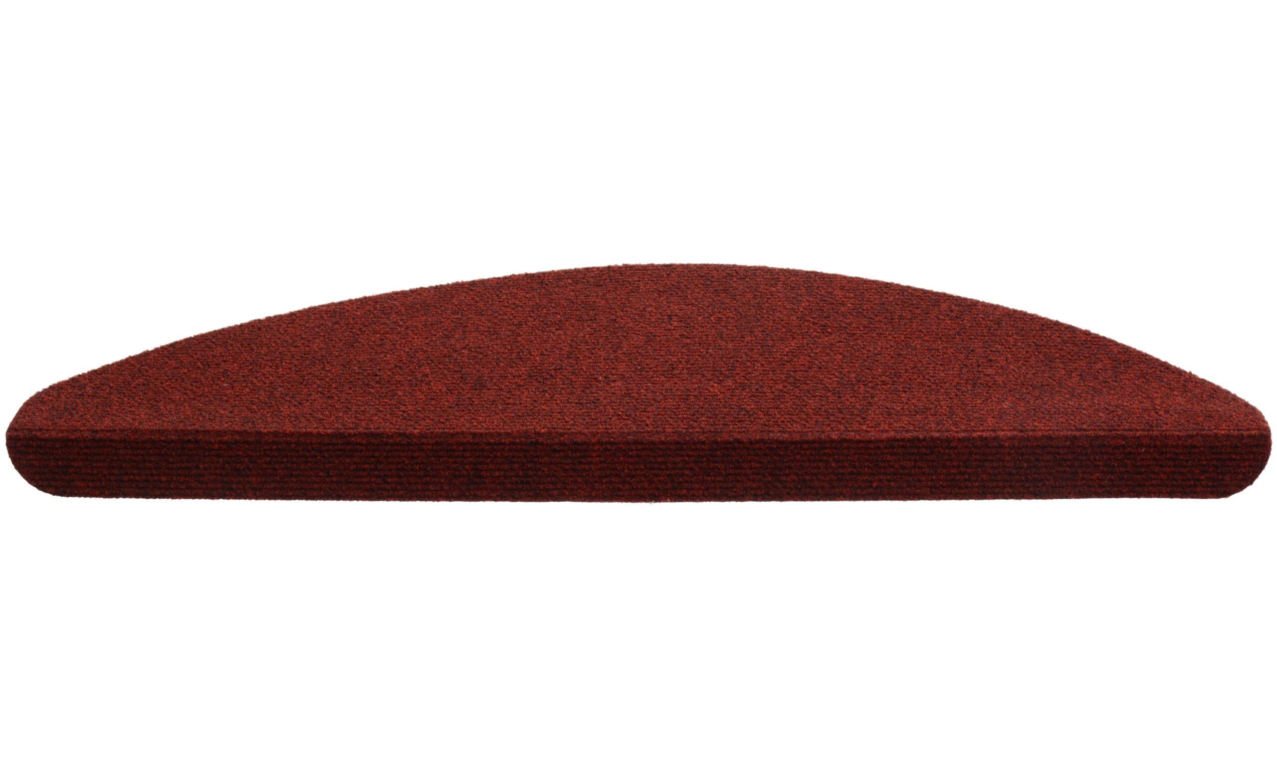 Paris basic rød 40 - trappetrinnteppe