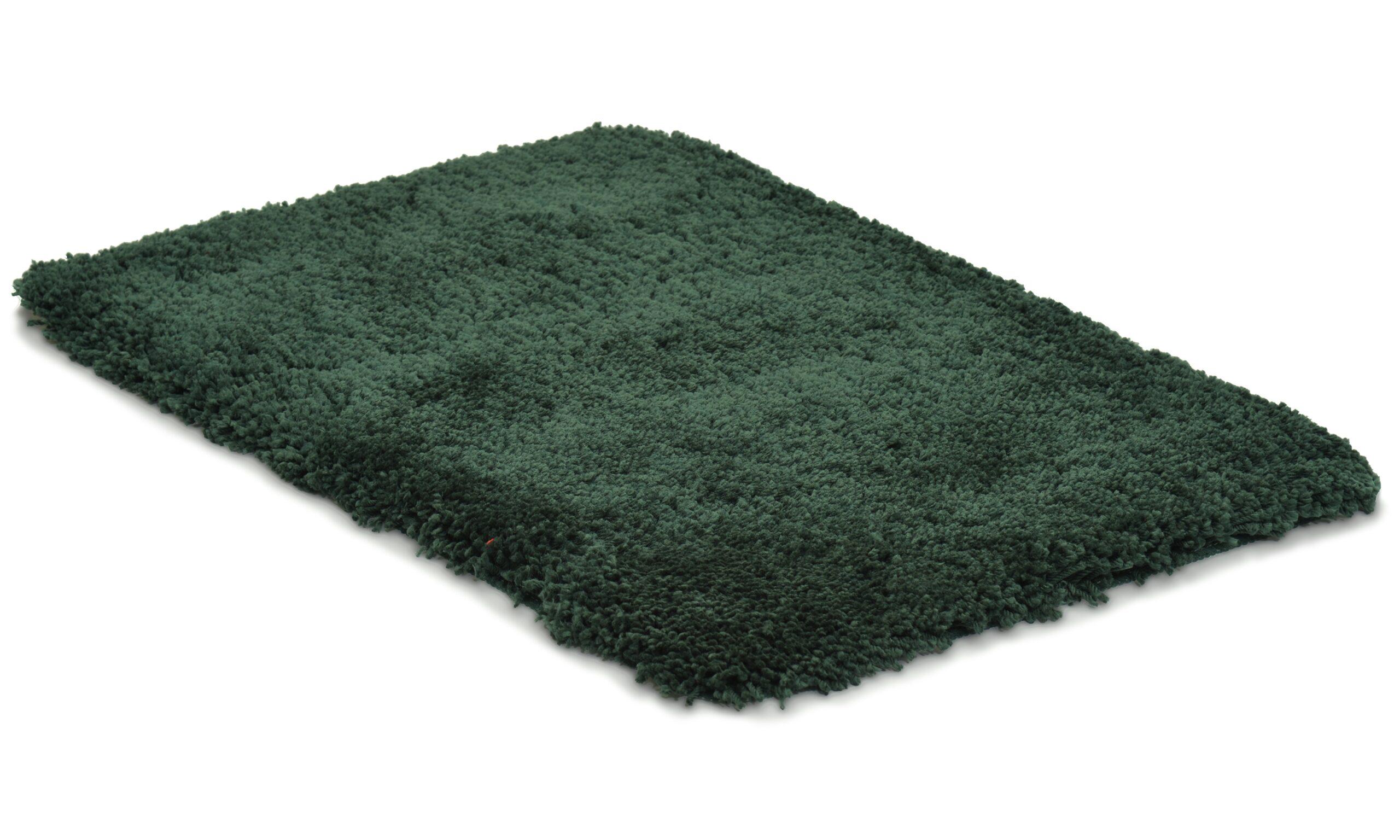 Highland dark green - baderomsmatte