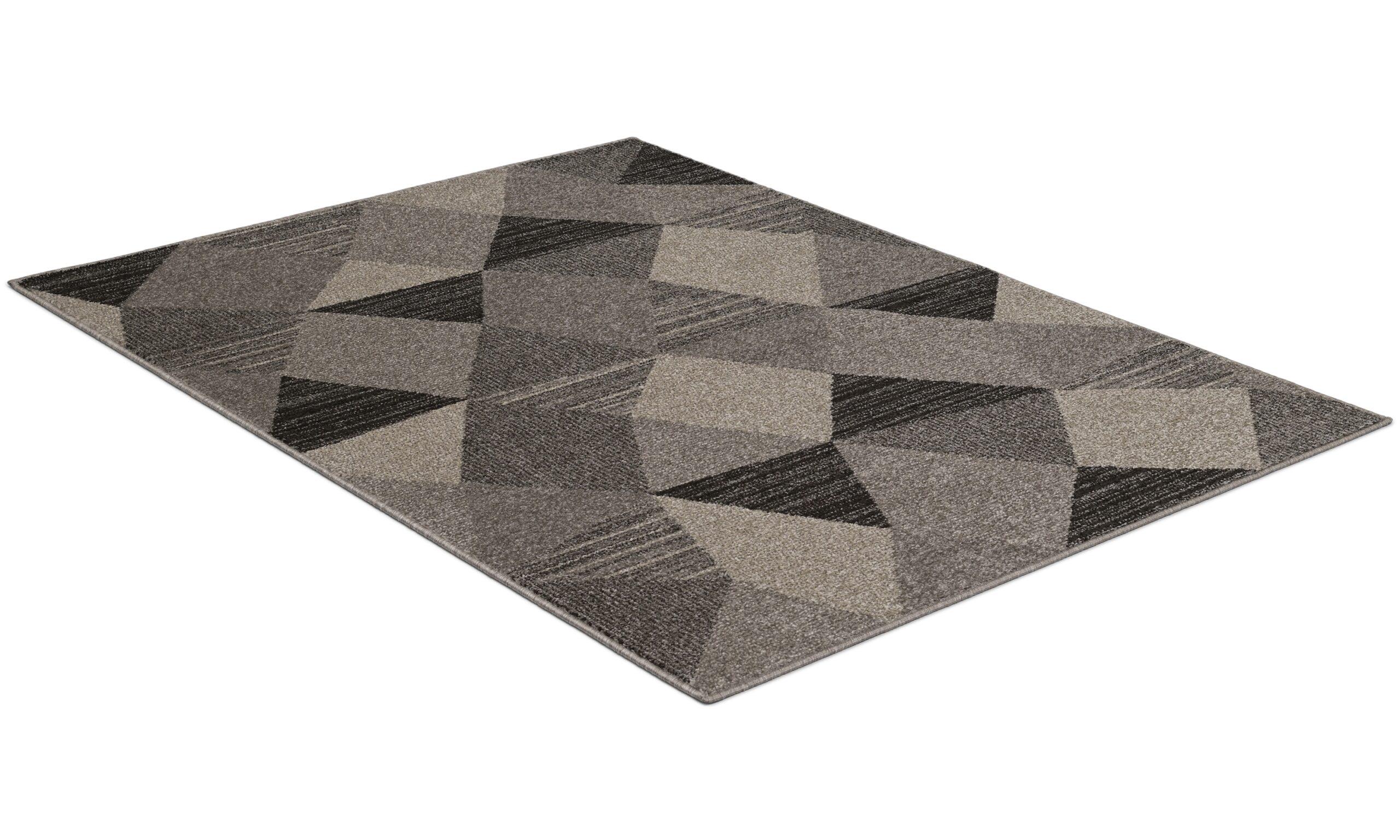 Solna grå - maskinvevd teppe