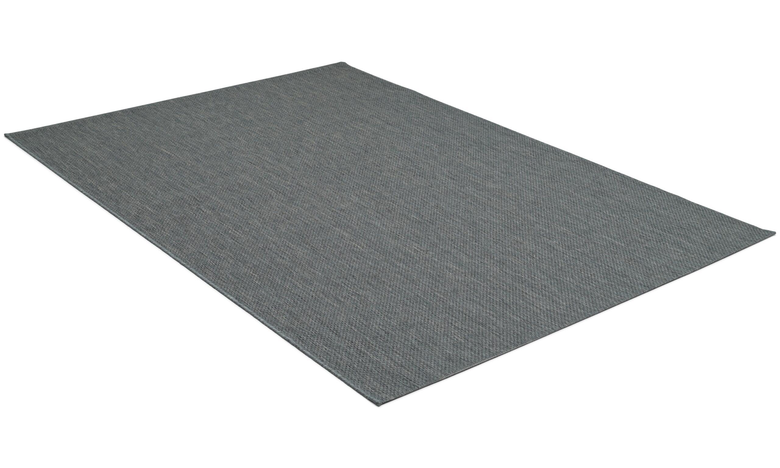 Valencia antrasitt - flatvevd teppe