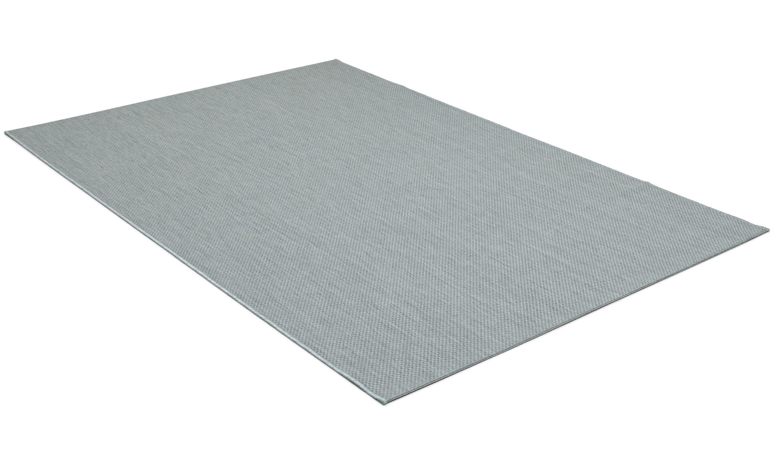 Valencia grå - flatvevd teppe