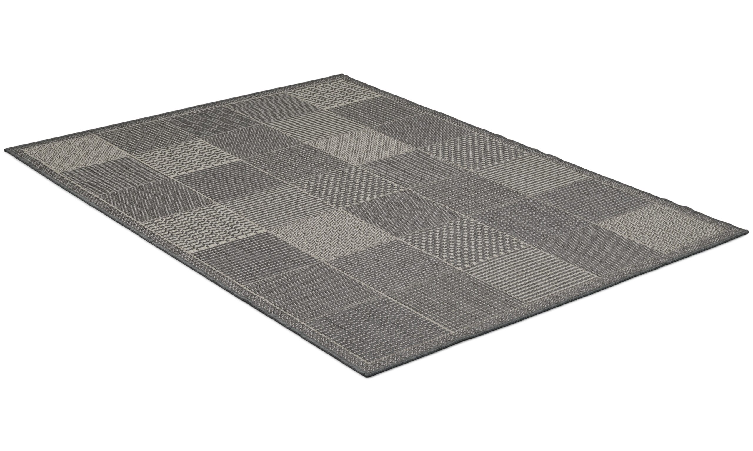 Taverna champ/grey - flatvevd teppe