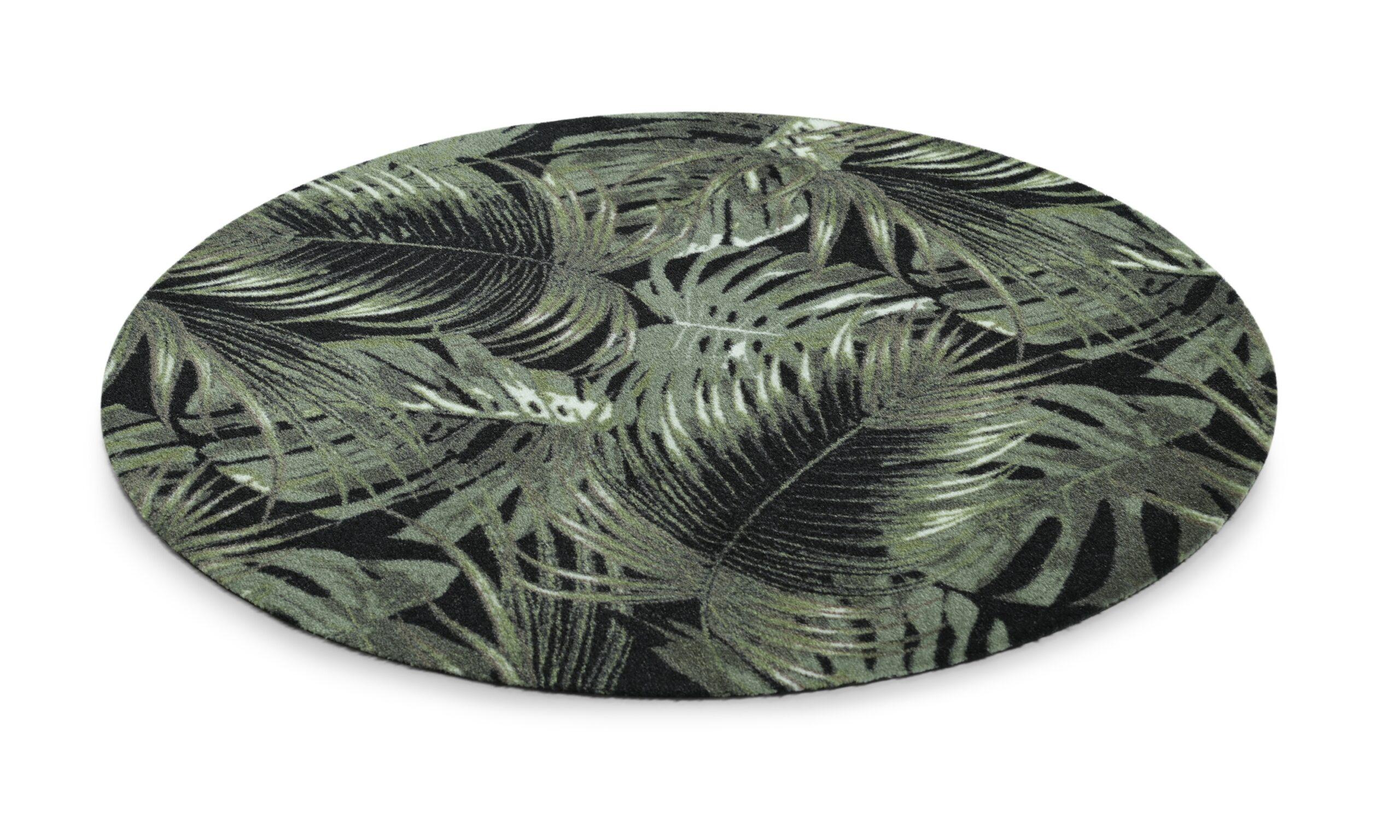Palm leaves rundt - multifunksjonsteppe