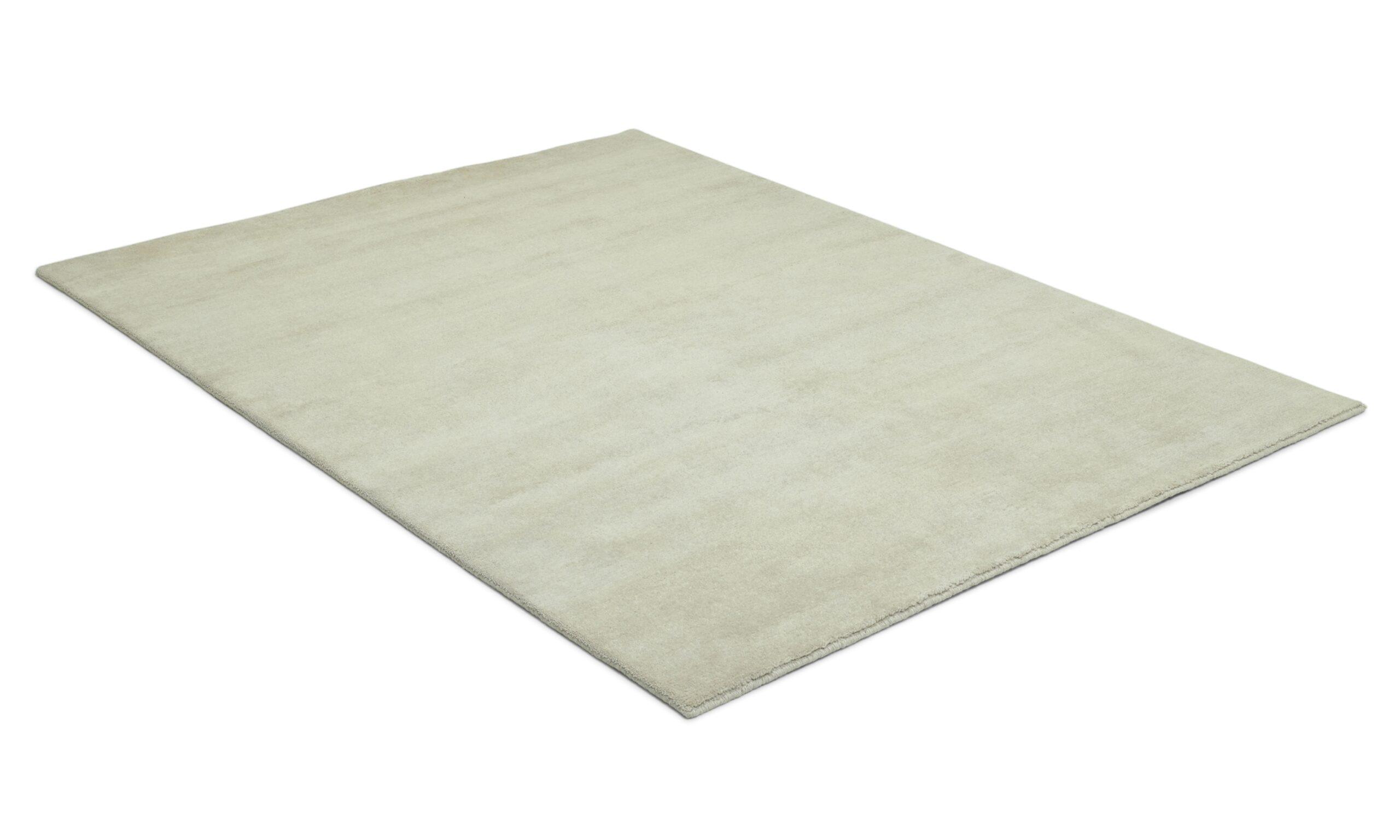 Aran offwhite - håndknyttet teppe
