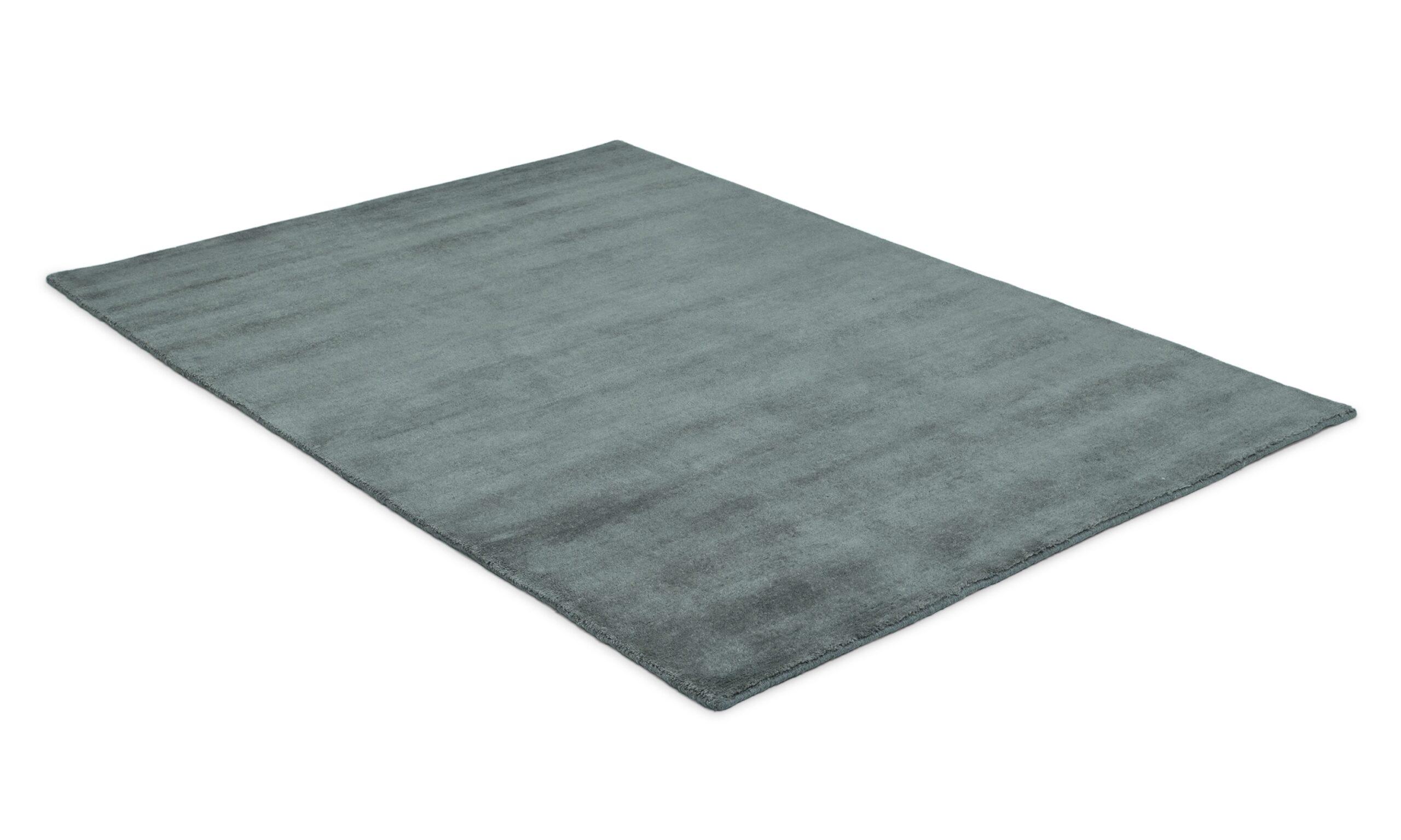 Aran grå - håndknyttet teppe
