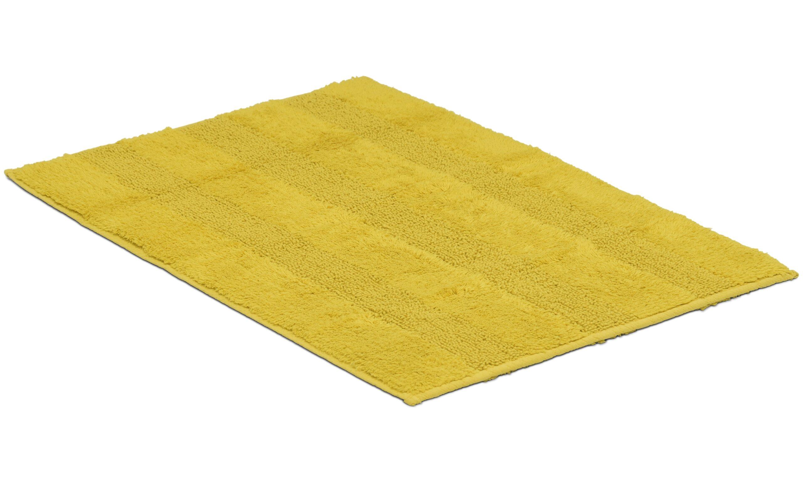 New Plus mustard - baderomsmatte