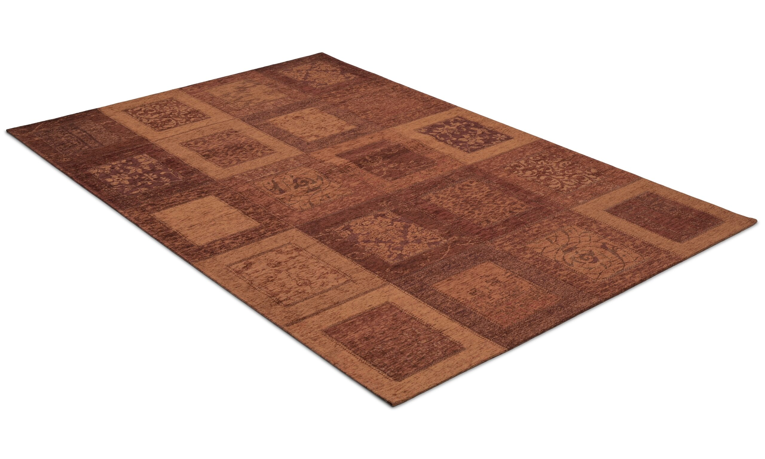 Tinetto rust - maskinvevd teppe