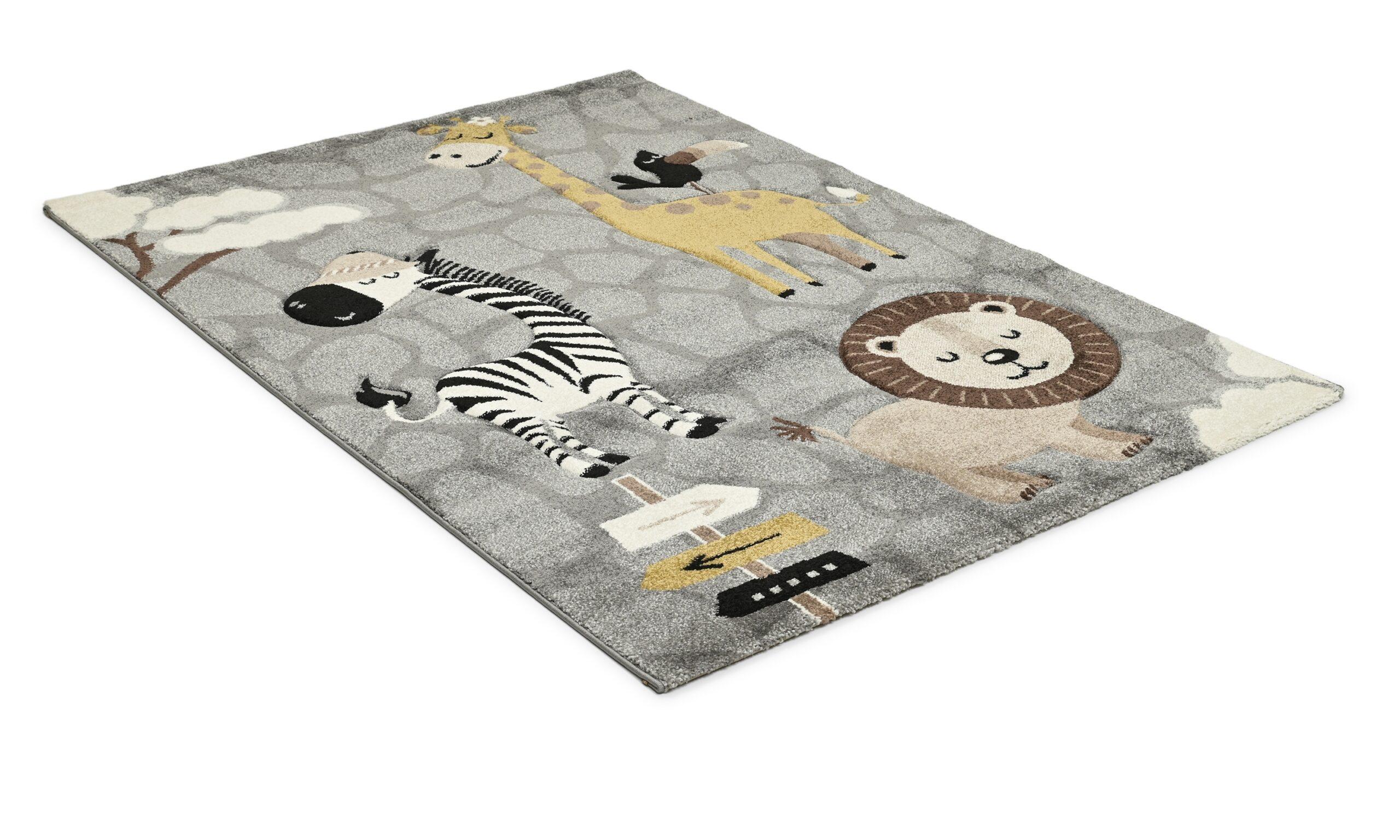 Atlas Savannen grå - barneteppe