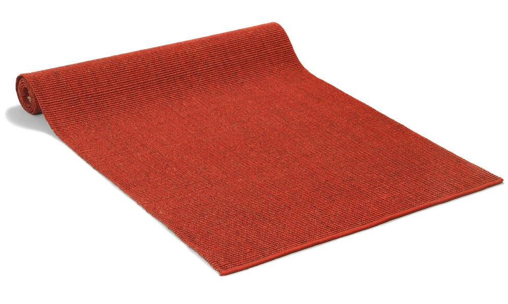 Sisal boucle Salvador rød - teppe i metervare