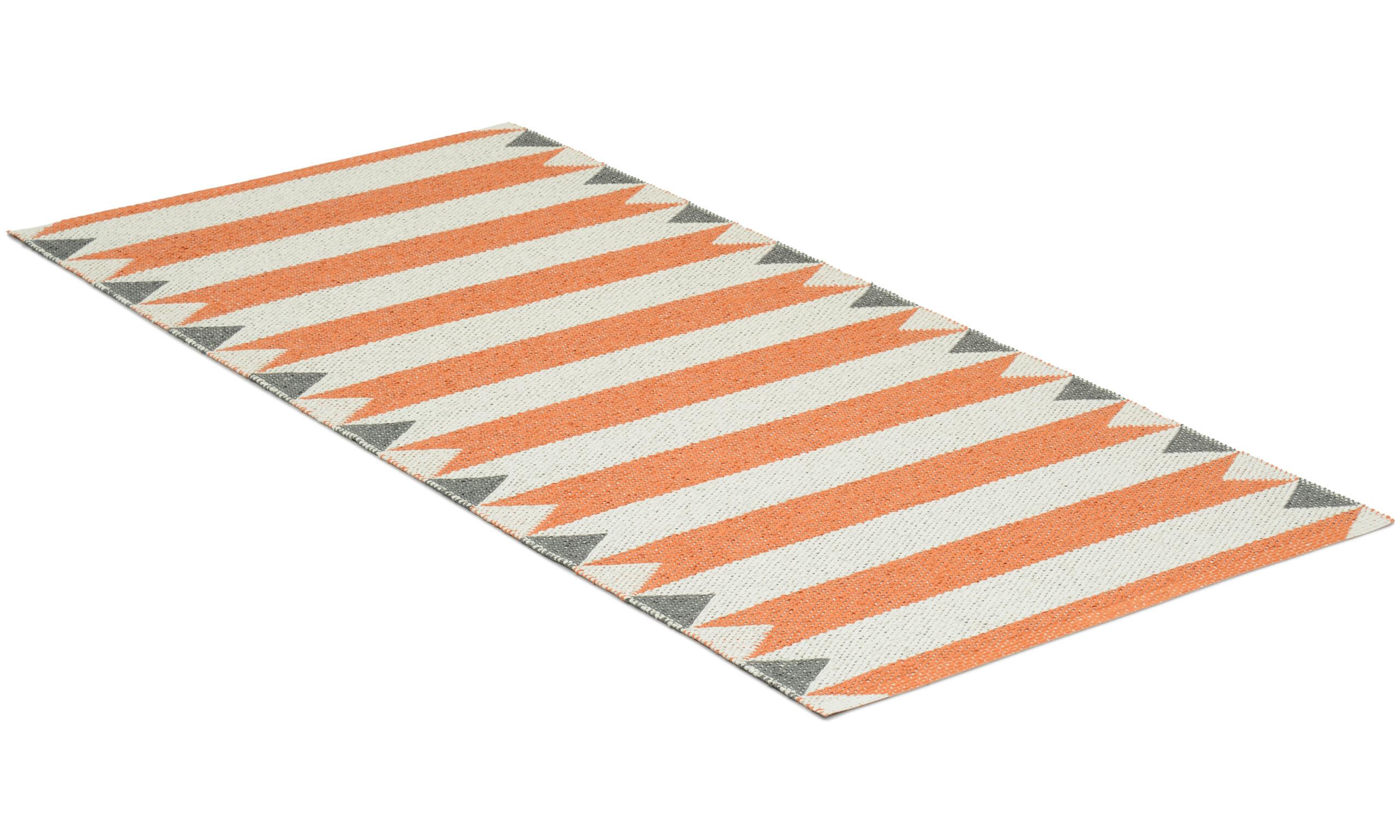 Peak orange - plastteppe
