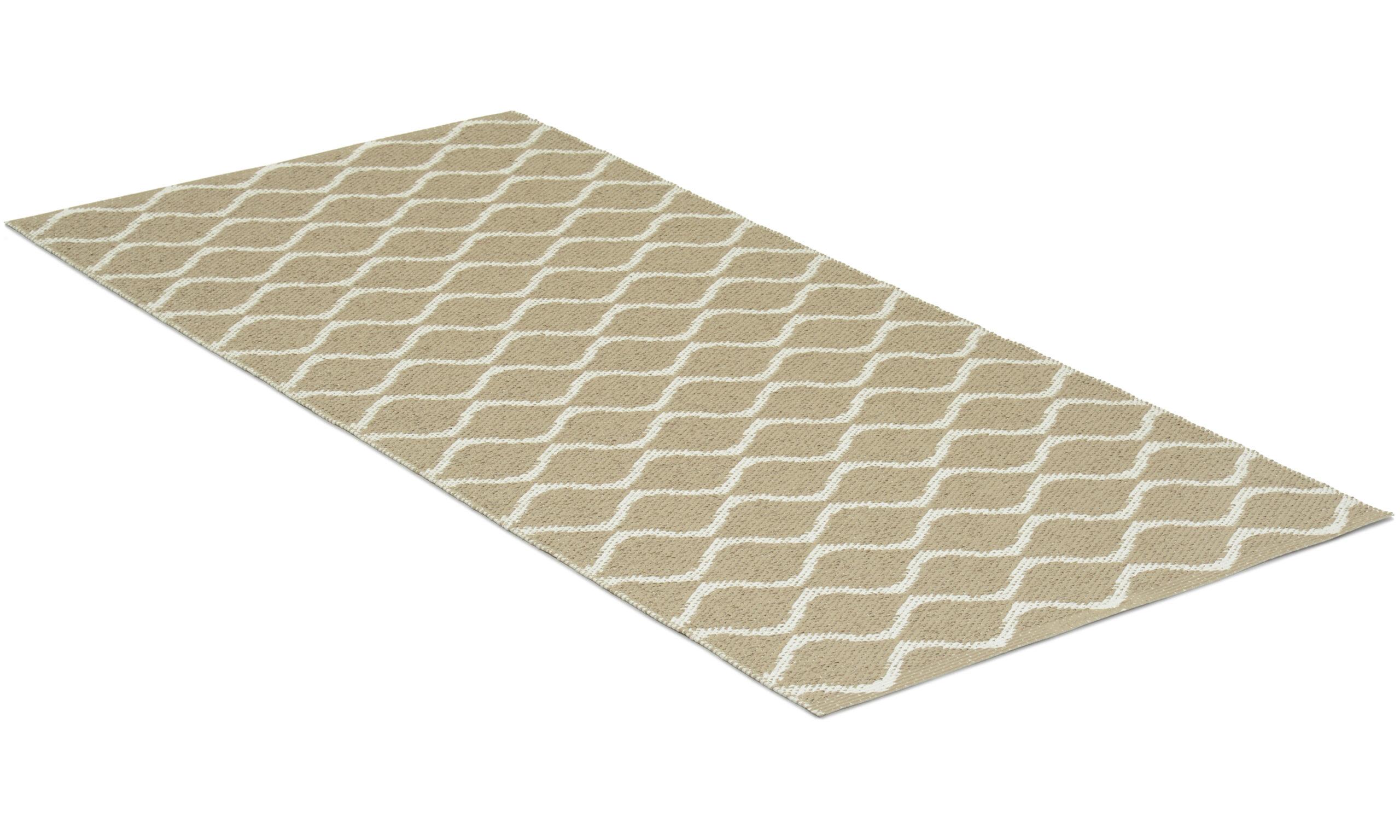 Wave beige - plastteppe