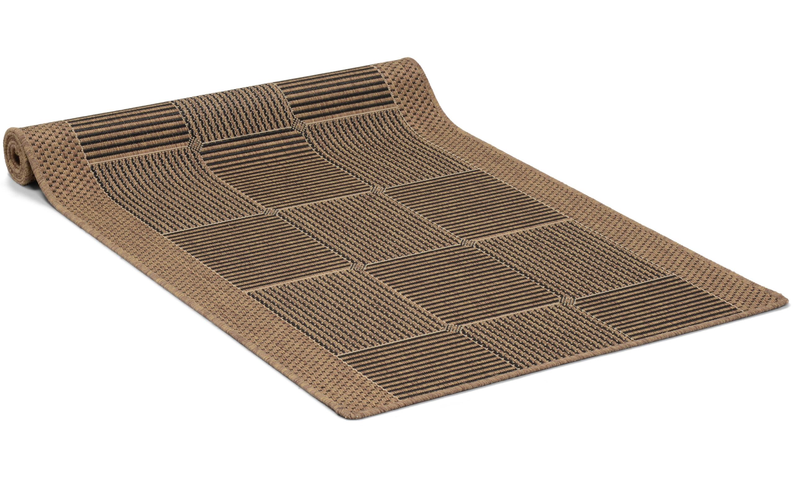 Brick brun - løper metervare