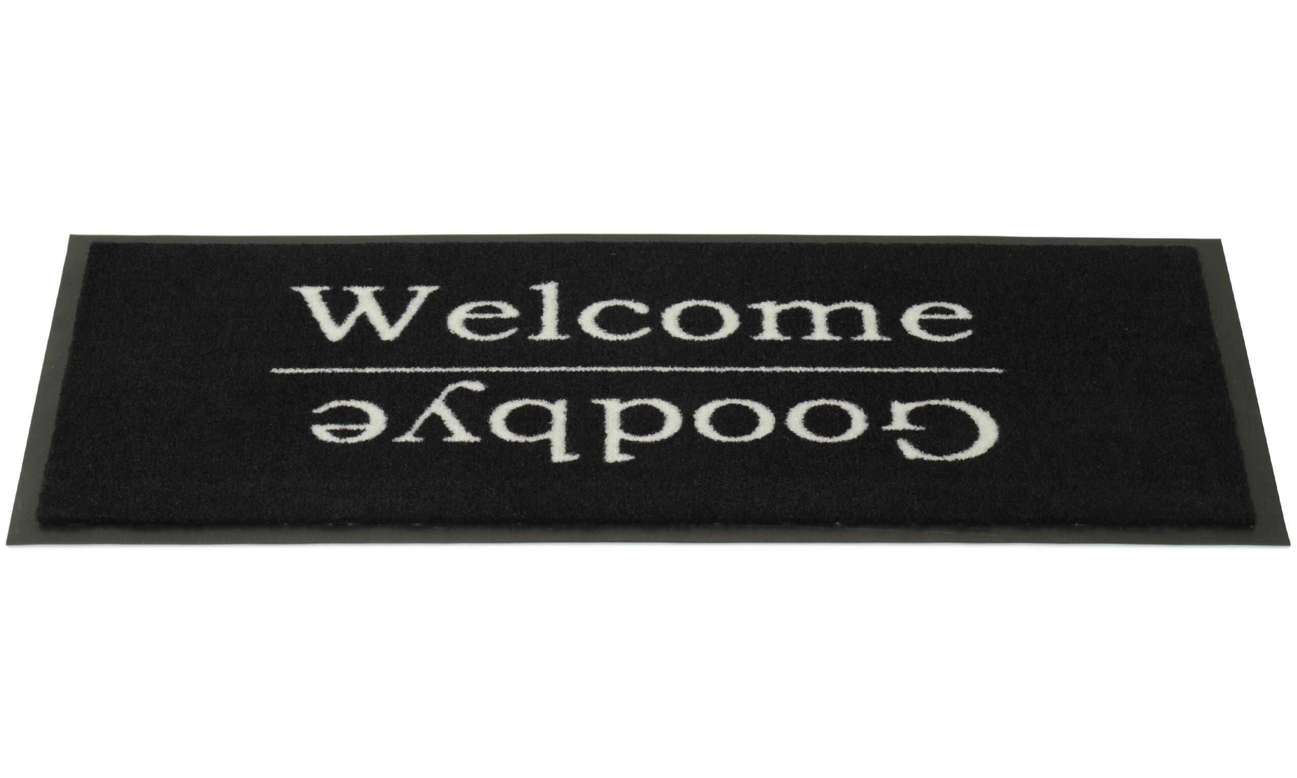 Welcome/Goodbye - dørmatte