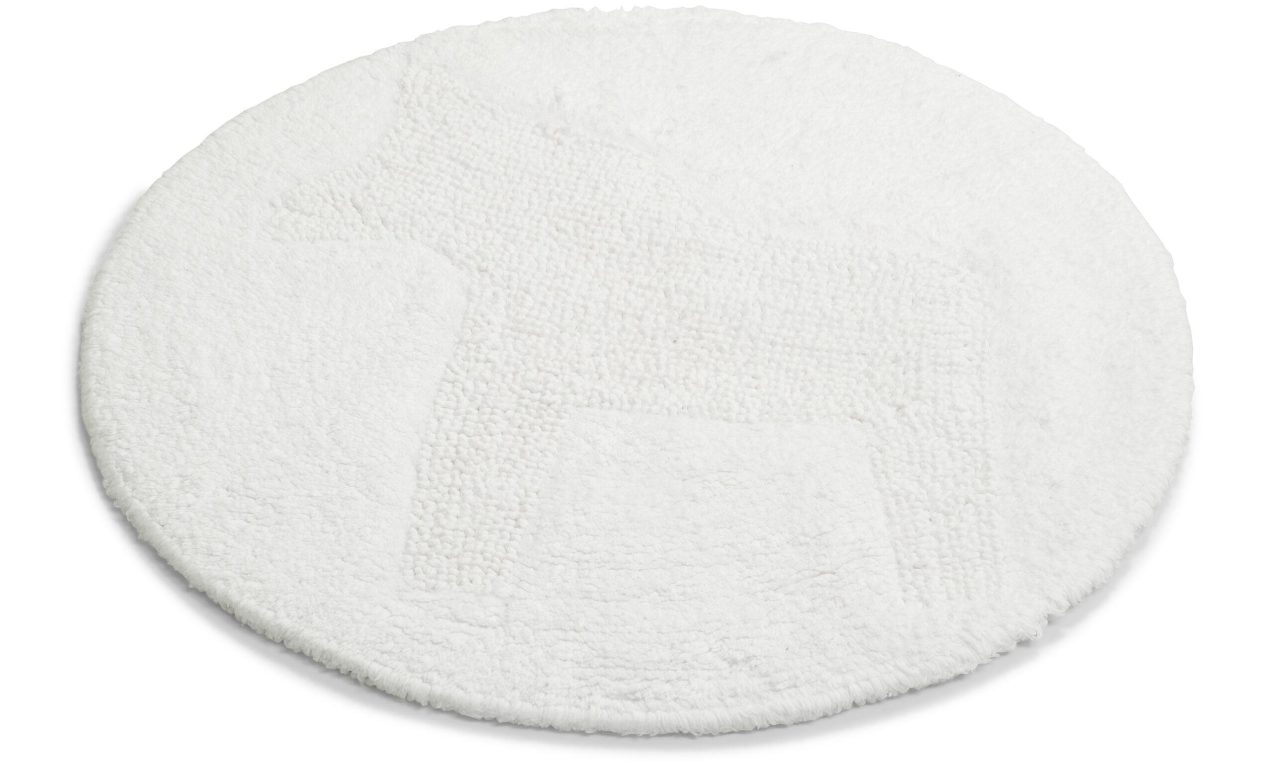 Dala hvit - baderomsmatte