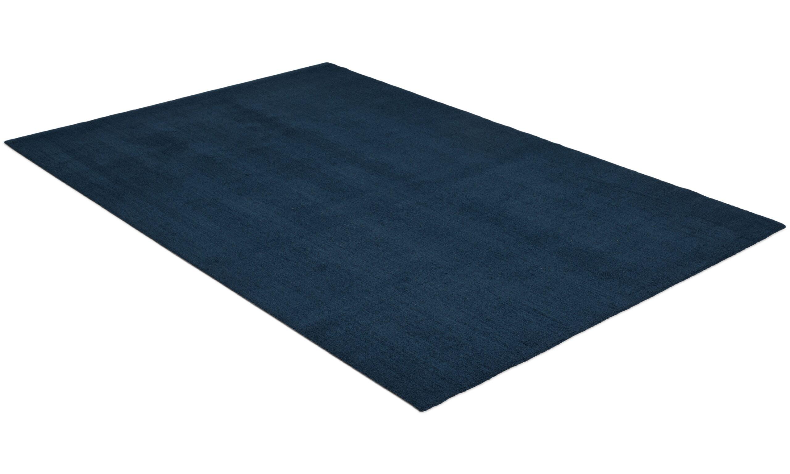 Feel blå - maskinvevd teppe