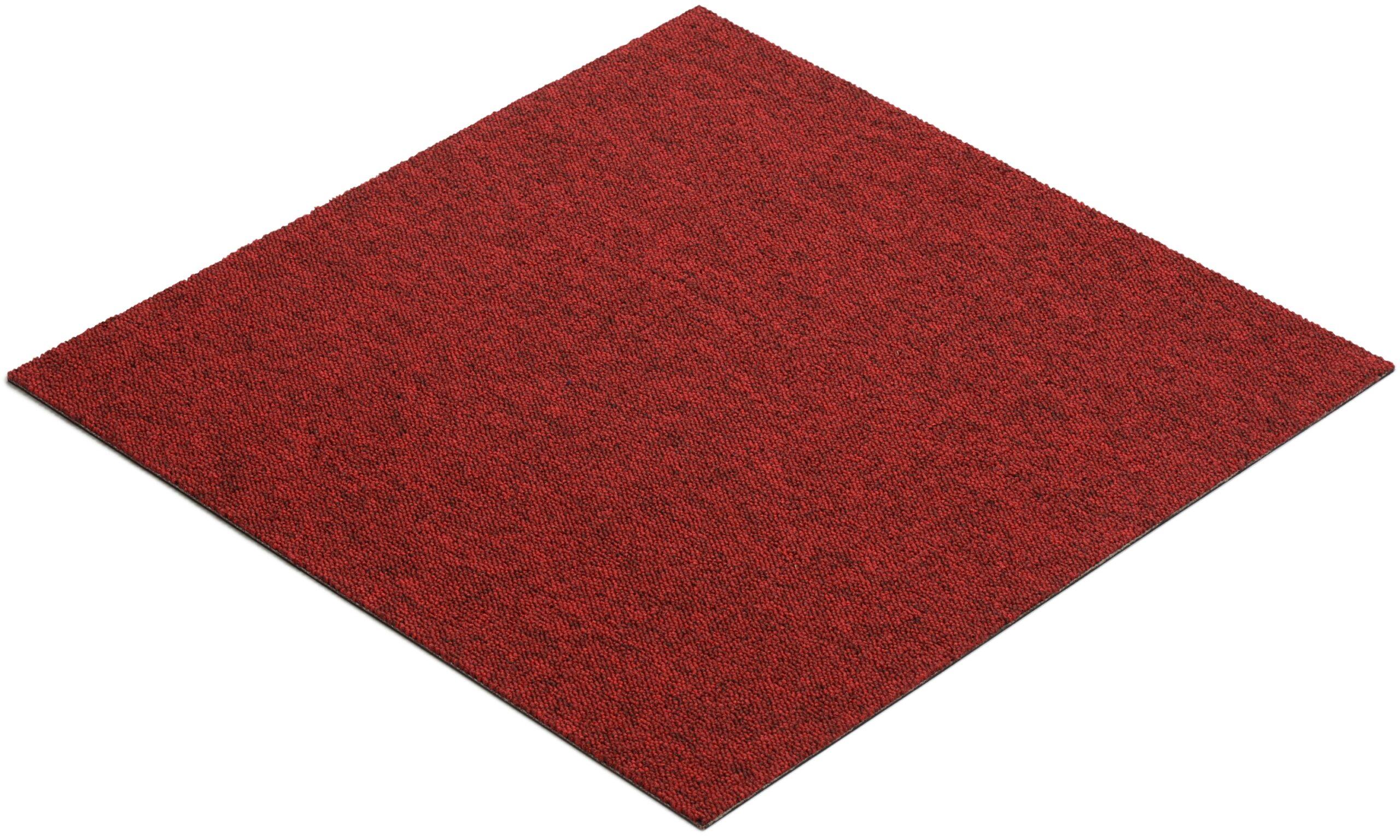 Quebec rød - teppeflis