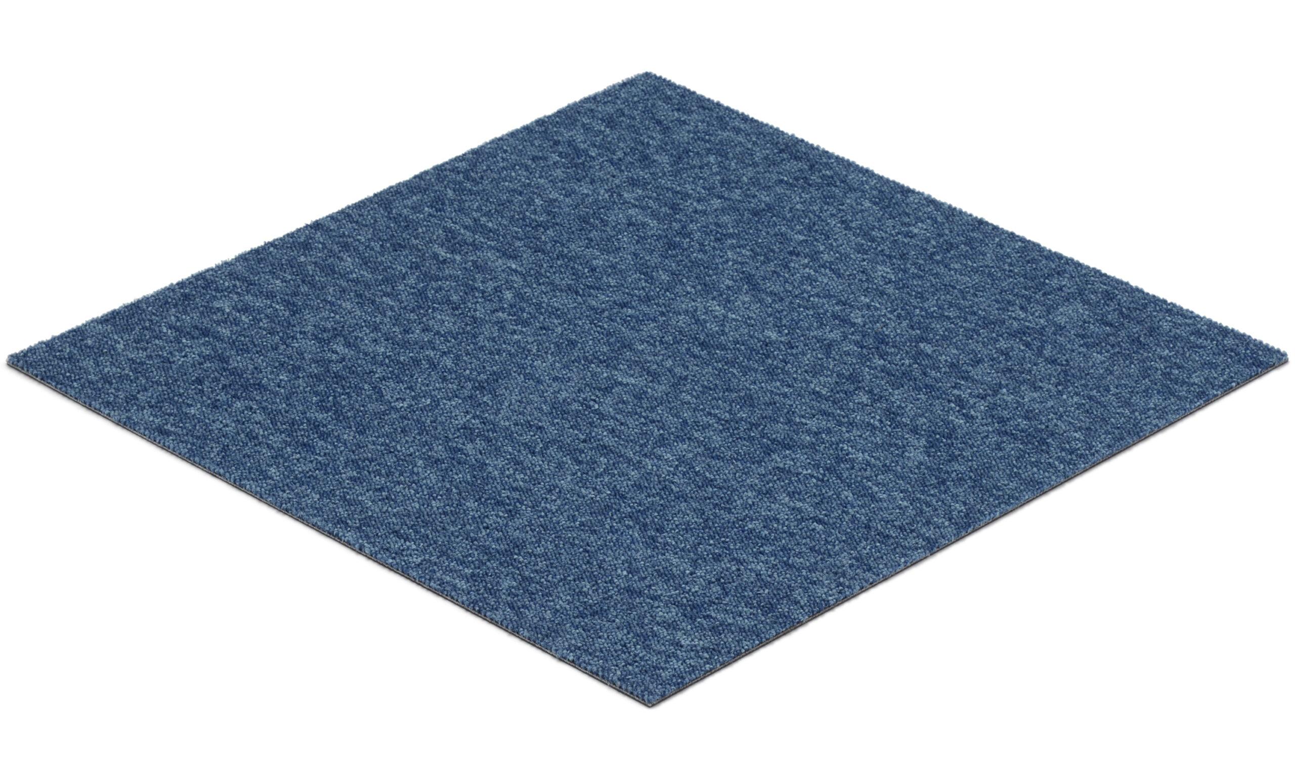 Quebec blå - teppeflis