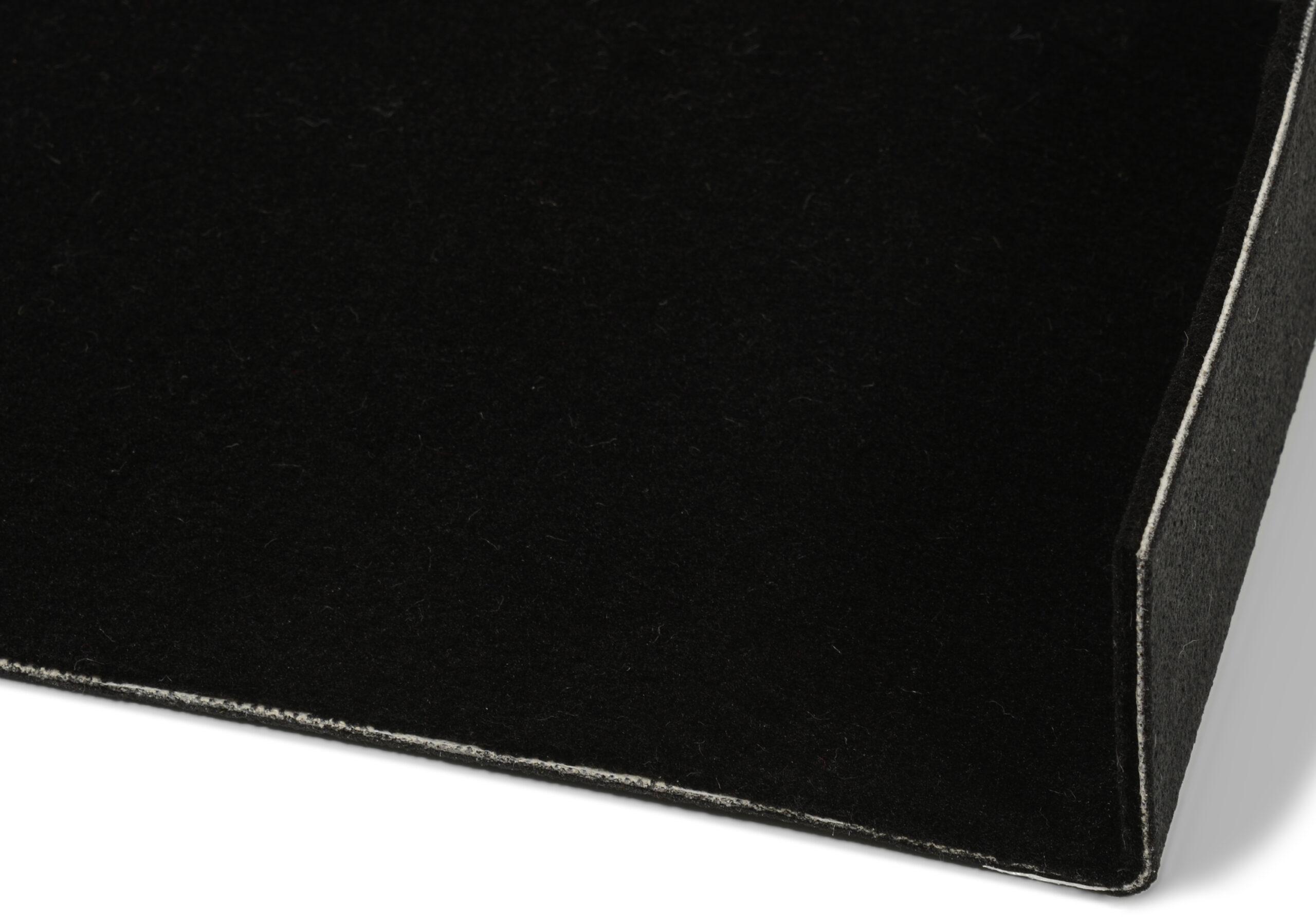 Luxury svart - bilmatte