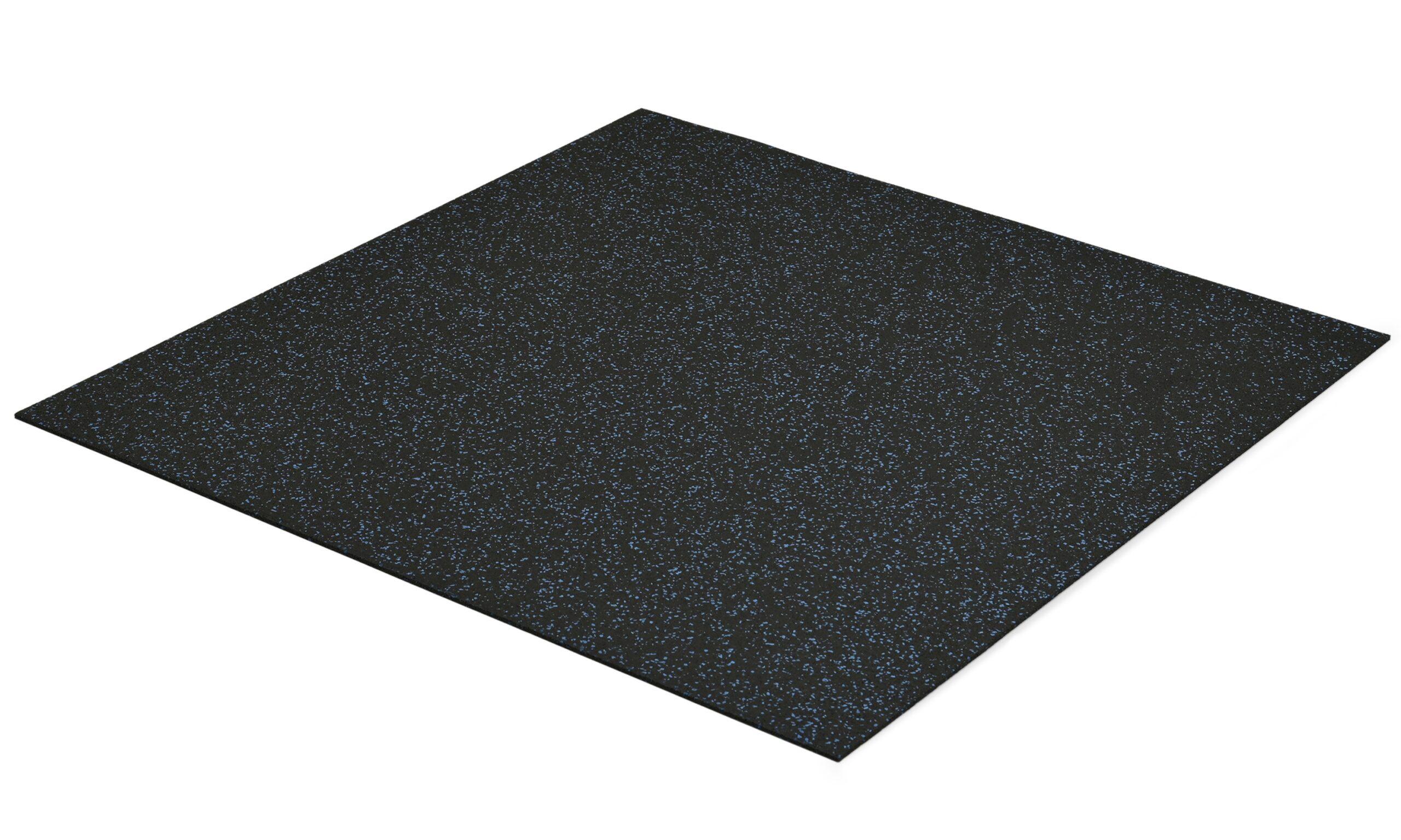 Comfort svart/blå - gymmatte