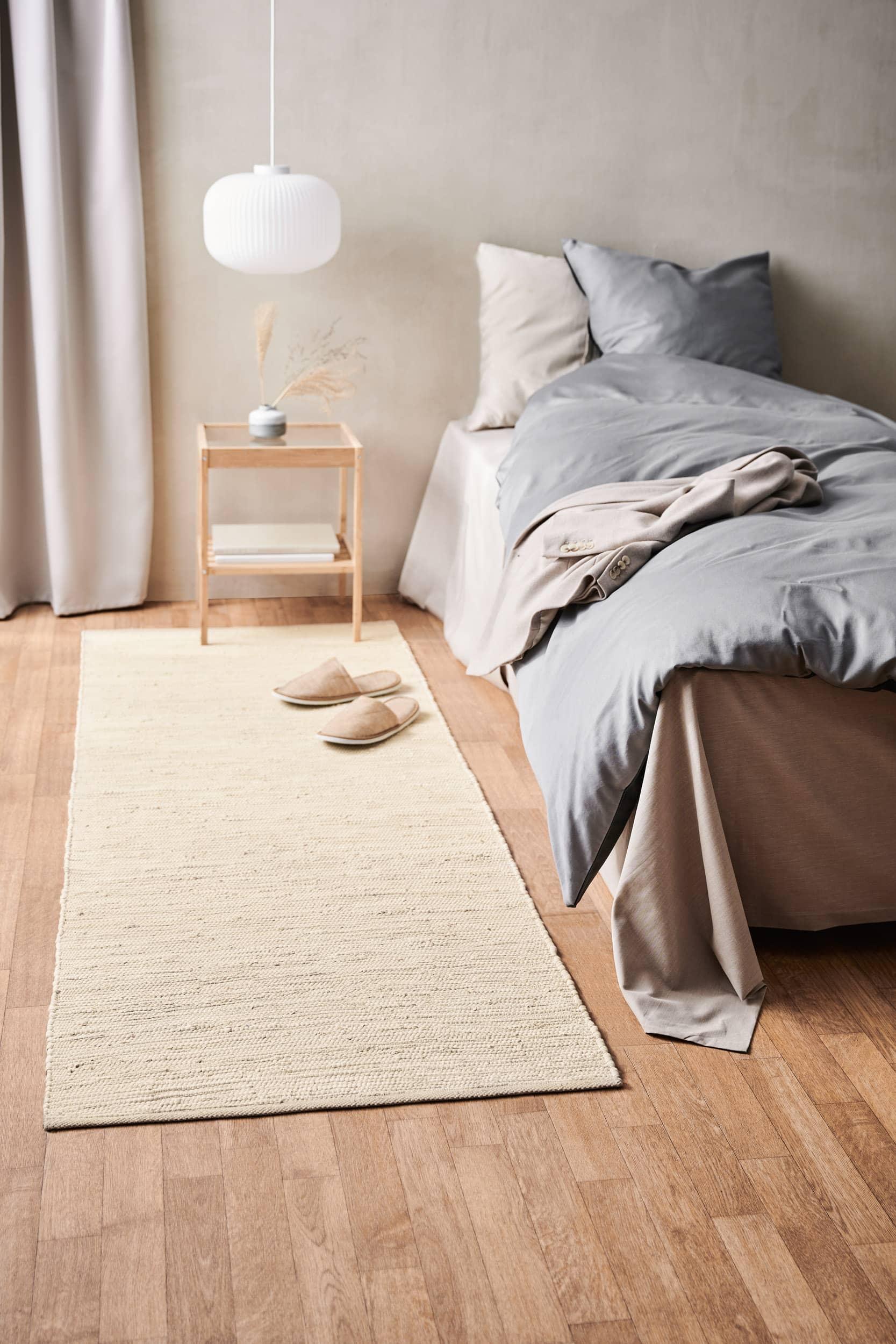 Cotton rug desert white - fillerye
