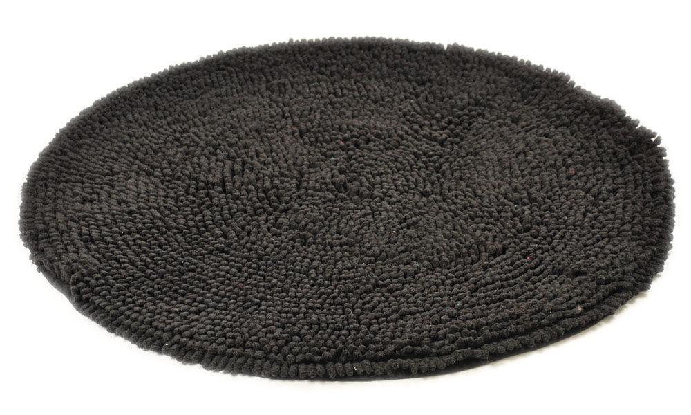 Rasta svart - baderomsteppe